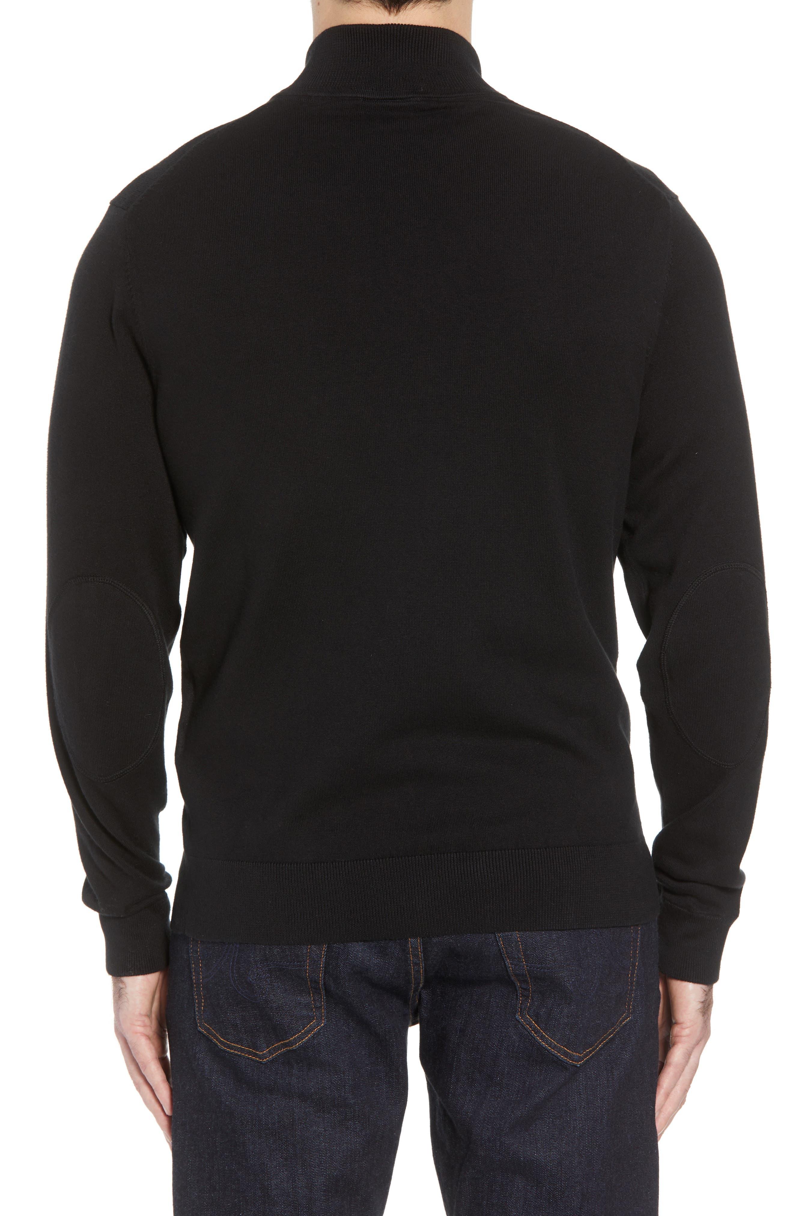 Pittsburgh Steelers - Lakemont Regular Fit Half Zip Sweater,                             Alternate thumbnail 2, color,                             001