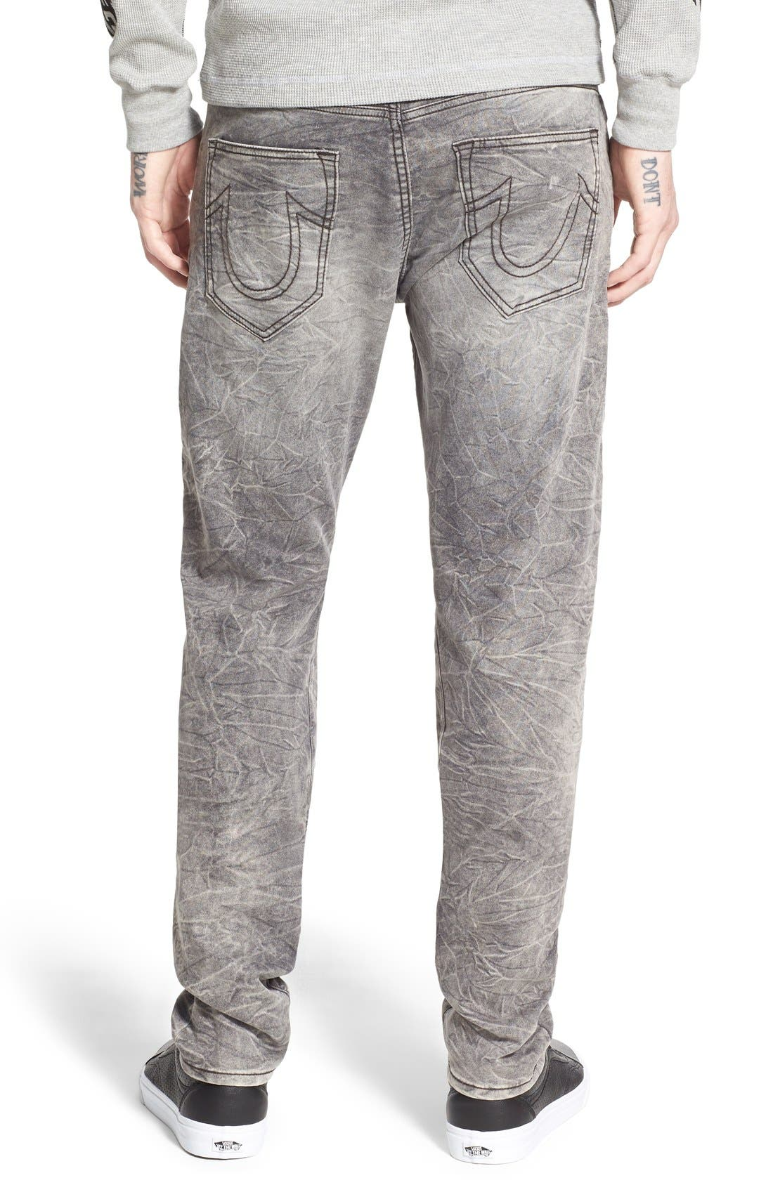 'Dean' Tapered Fit Denim Active Jogger Pants,                             Alternate thumbnail 4, color,