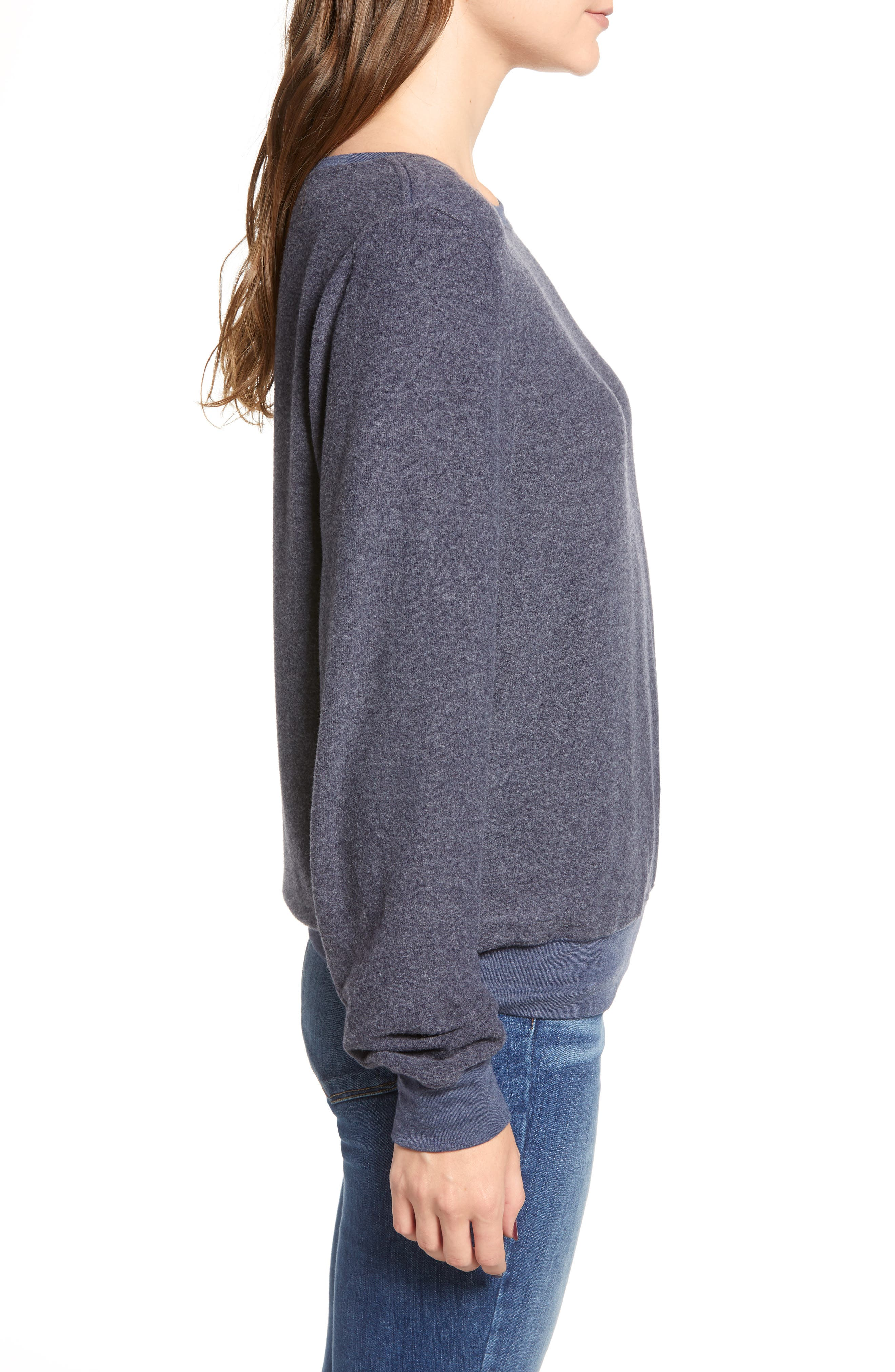 Baggy Beach Jumper Pullover,                             Alternate thumbnail 3, color,                             OXFORD