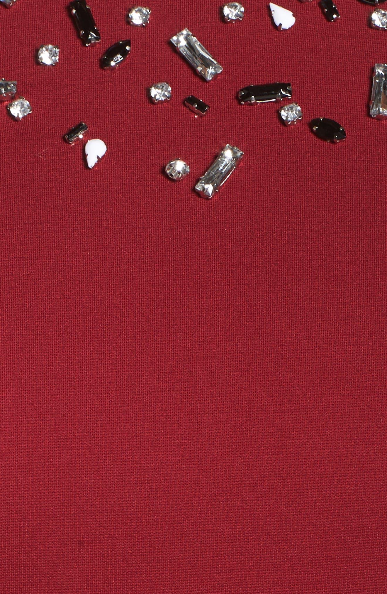 Bell Sleeve Peplum Shirt,                             Alternate thumbnail 10, color,