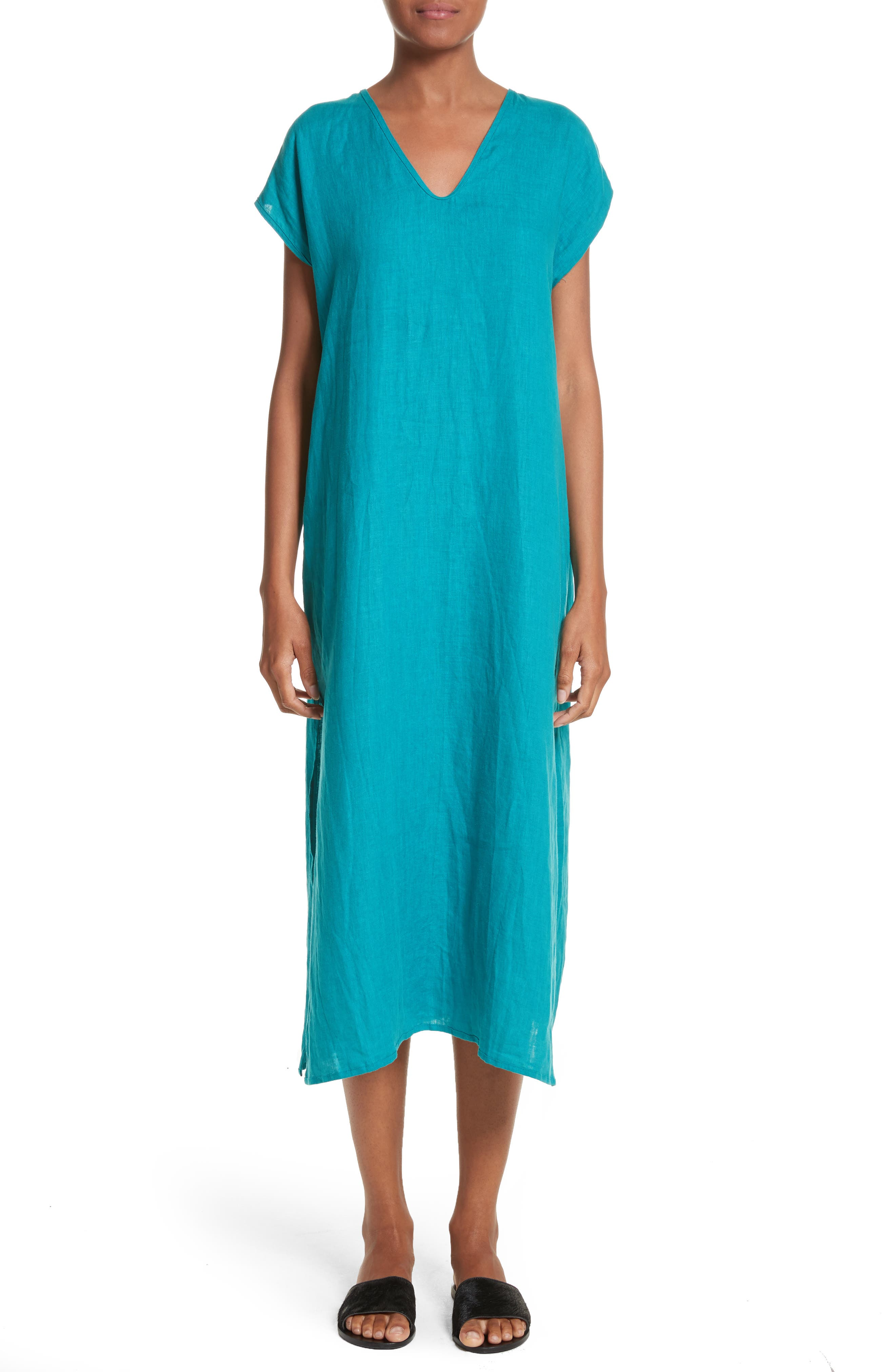 Cecil Cap Sleeve Tunic Dress,                             Main thumbnail 1, color,                             440