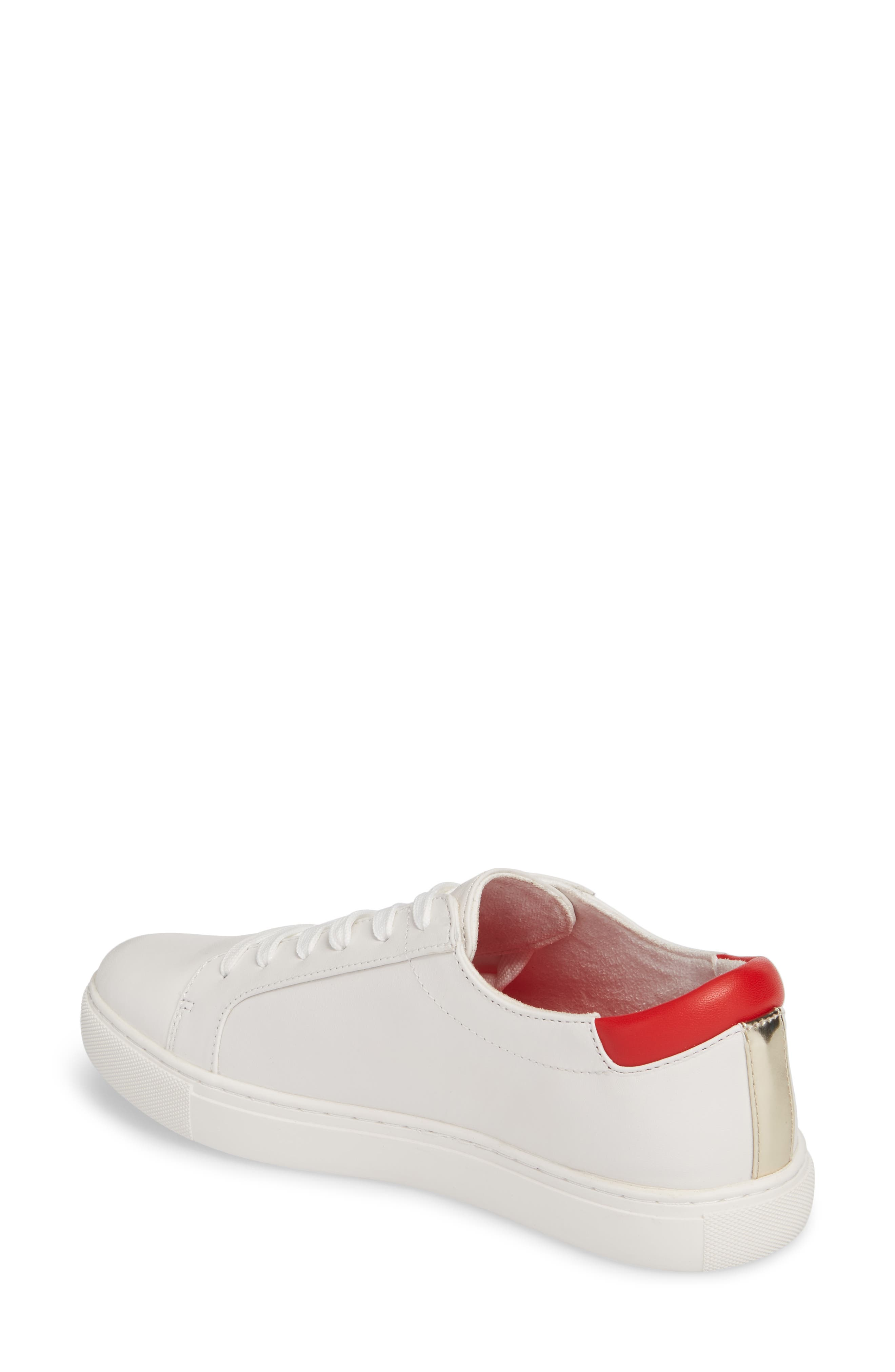 Cam Low Top Sneaker,                             Alternate thumbnail 4, color,