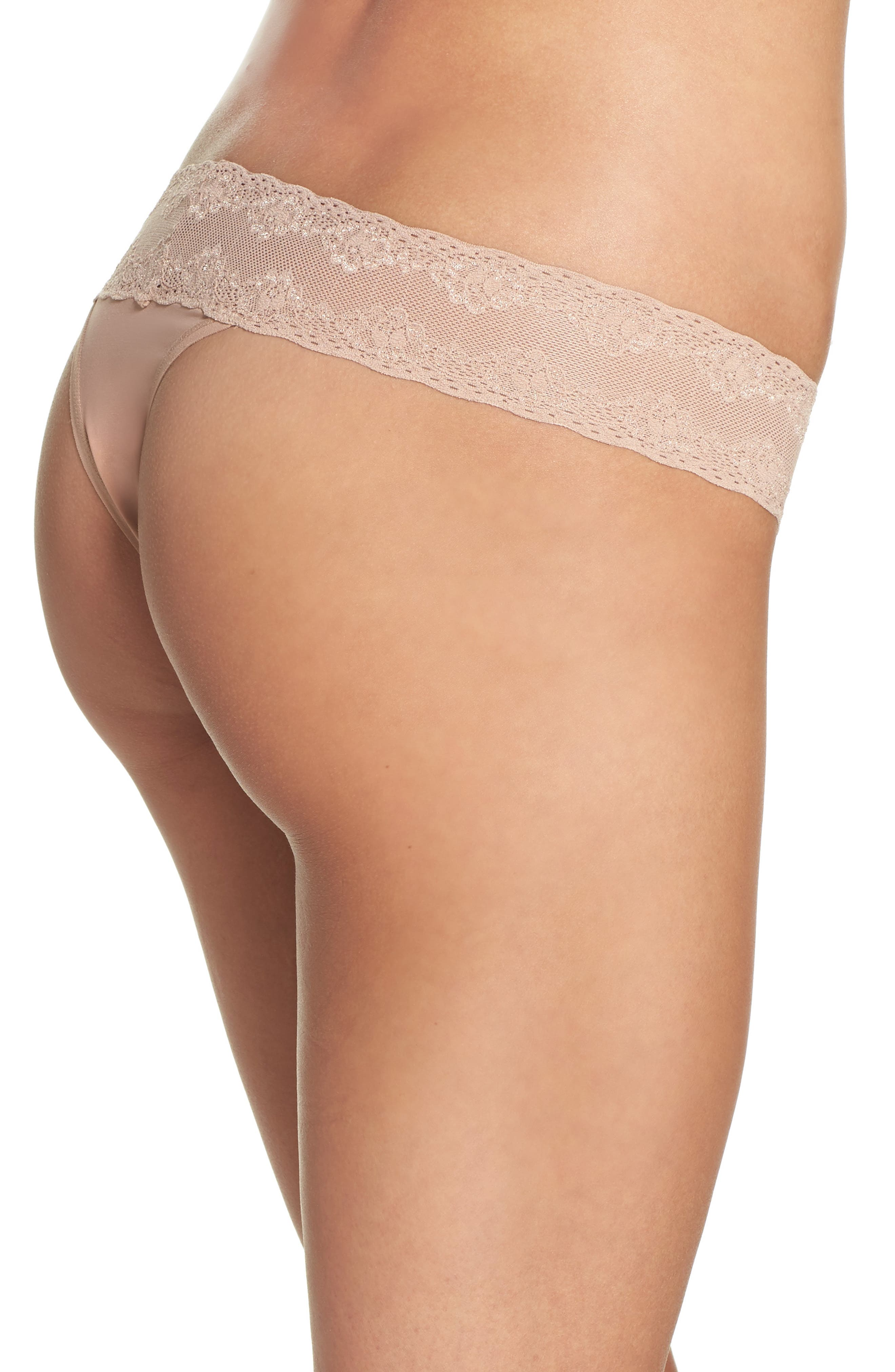 Bliss Perfection Thong,                             Alternate thumbnail 151, color,