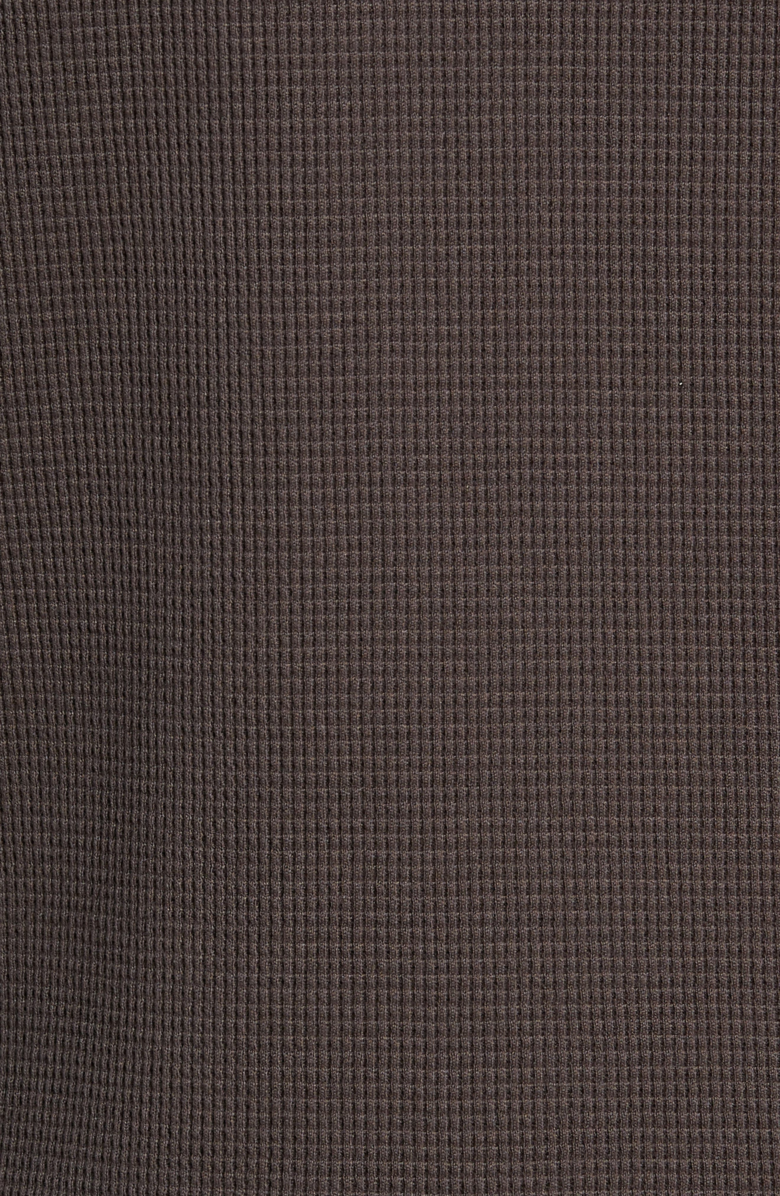 WINGS + HORNS,                             Long Sleeve Thermal Henley,                             Alternate thumbnail 5, color,                             STONE