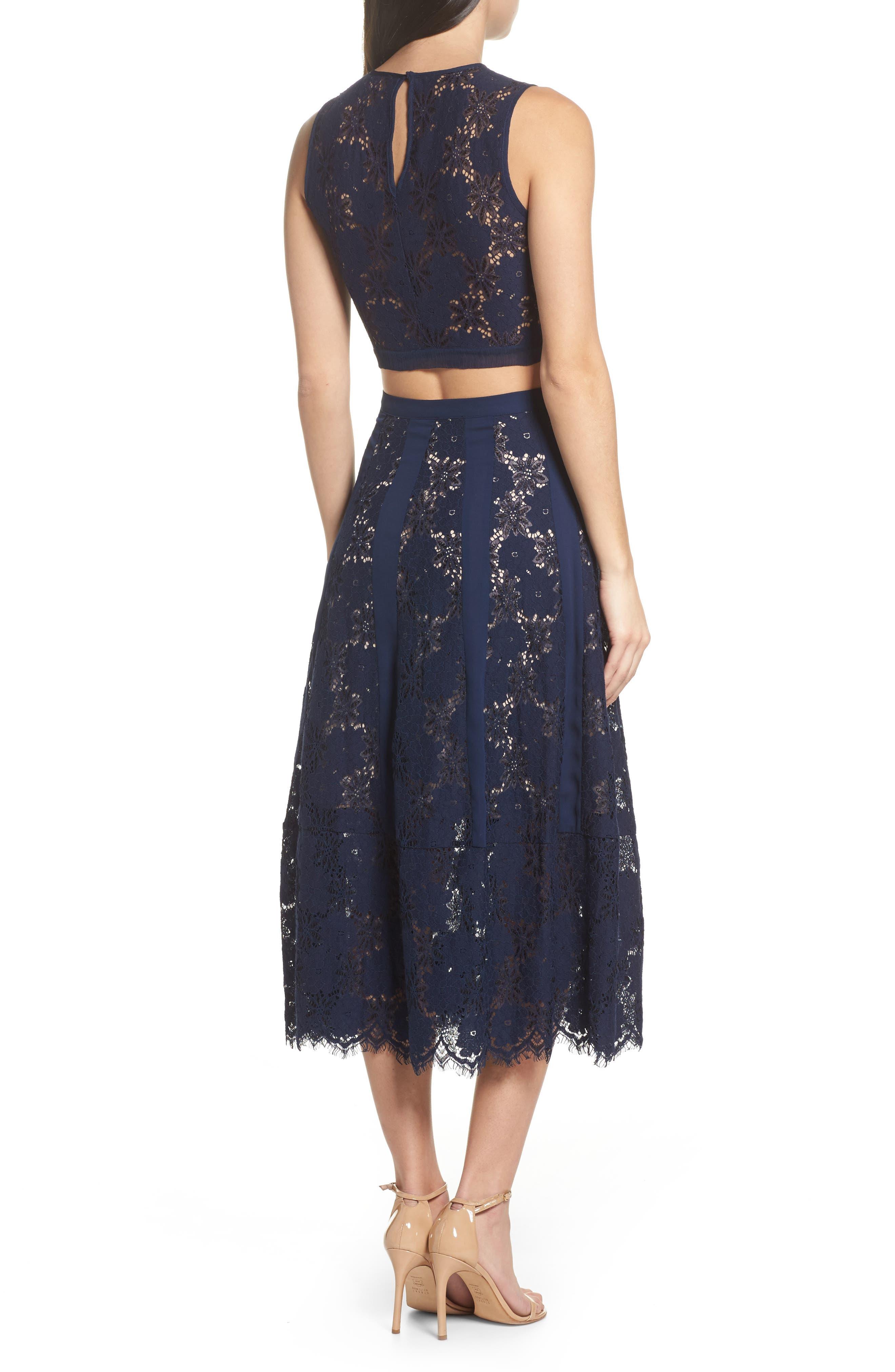 Atiqah Two-Piece Dress,                             Alternate thumbnail 2, color,                             414