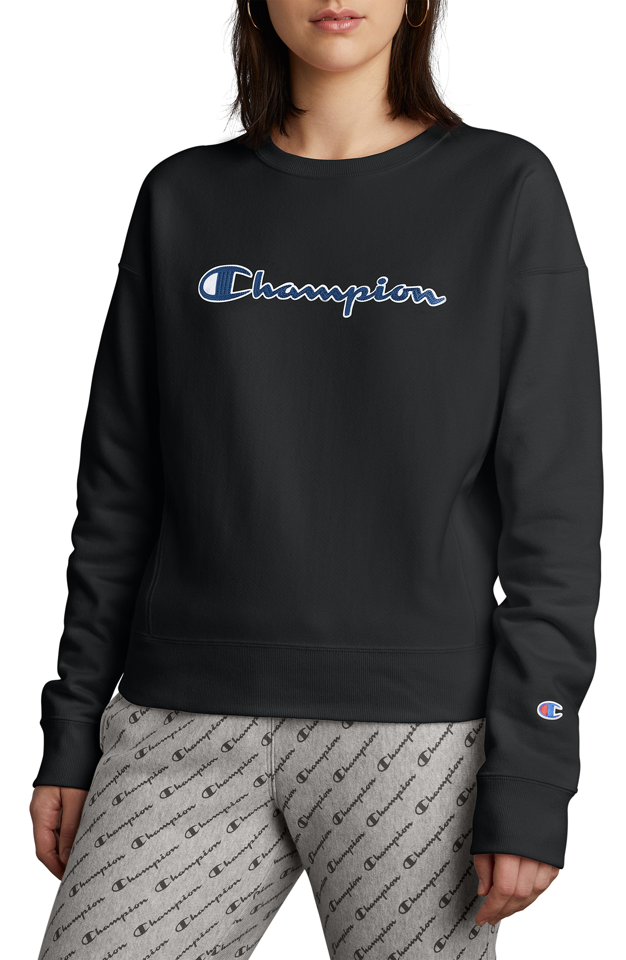 Champion Script Logo Sweatshirt