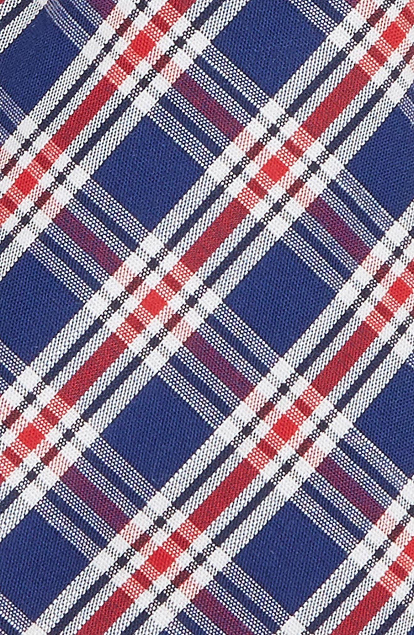 Plaid Cotton Tie,                             Alternate thumbnail 2, color,                             600