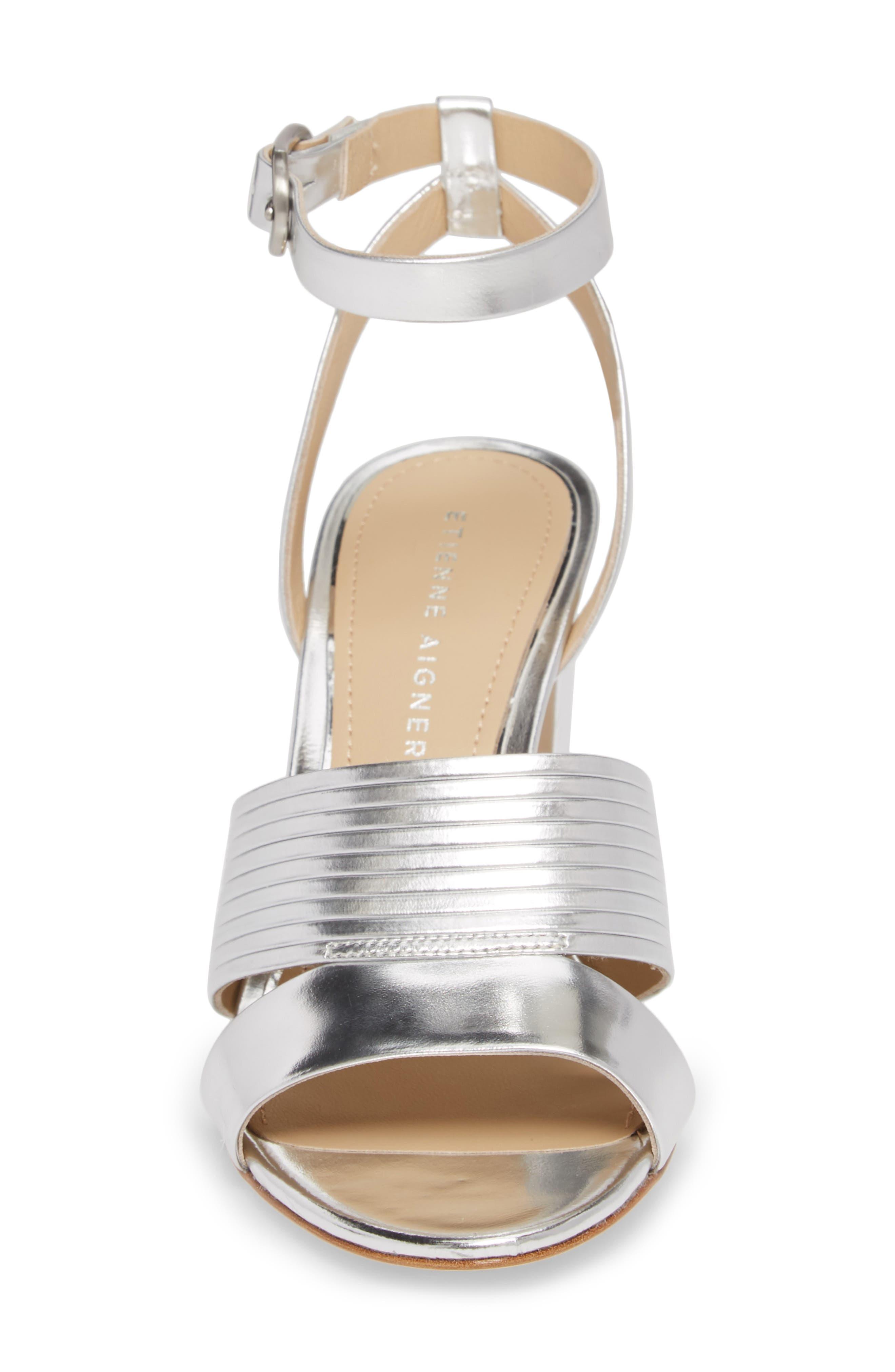 ETIENNE AIGNER,                             Layla Ankle Strap Sandal,                             Alternate thumbnail 4, color,                             040