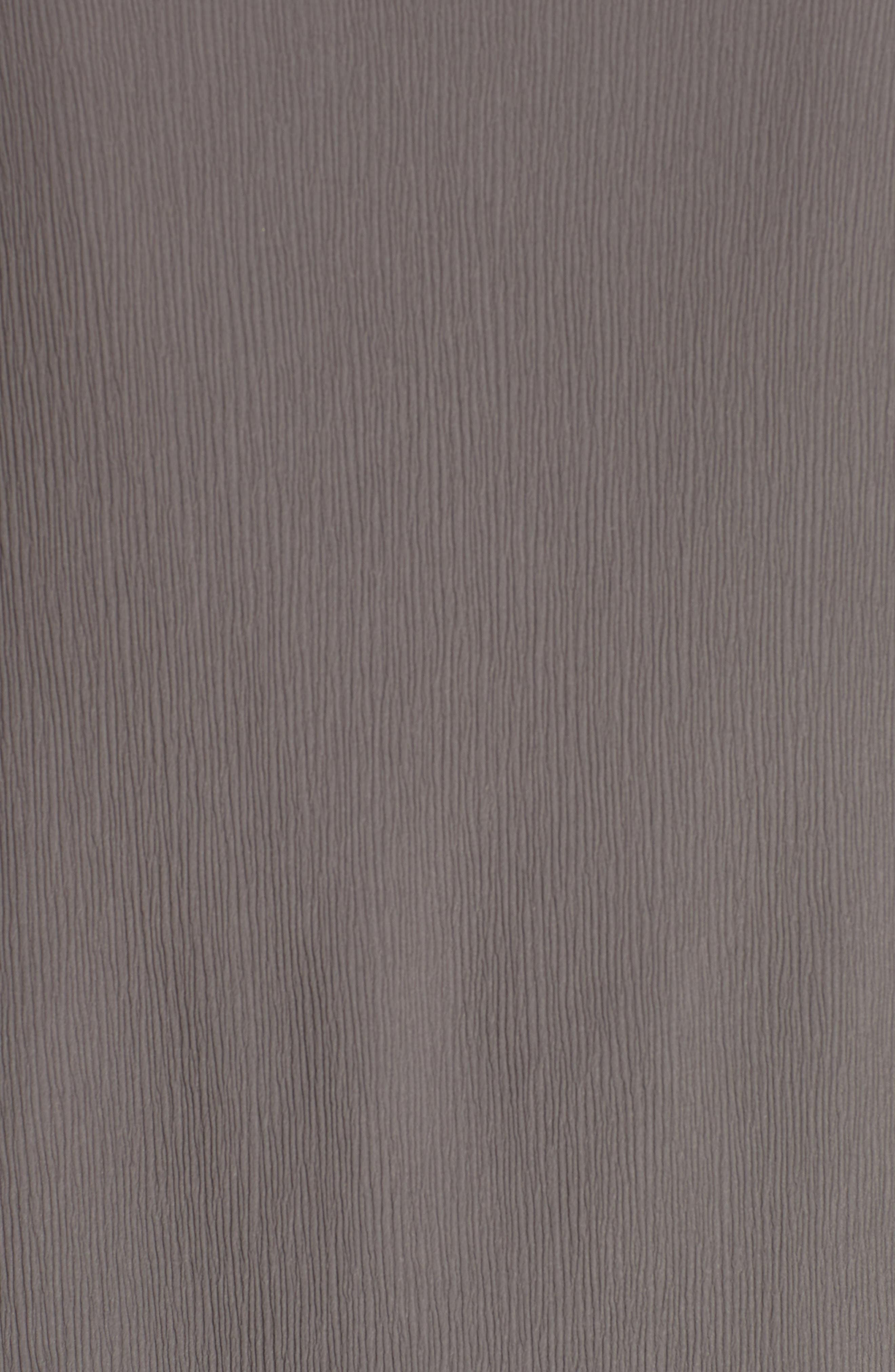 Knit Trim Chiffon Blouse,                             Alternate thumbnail 5, color,                             021