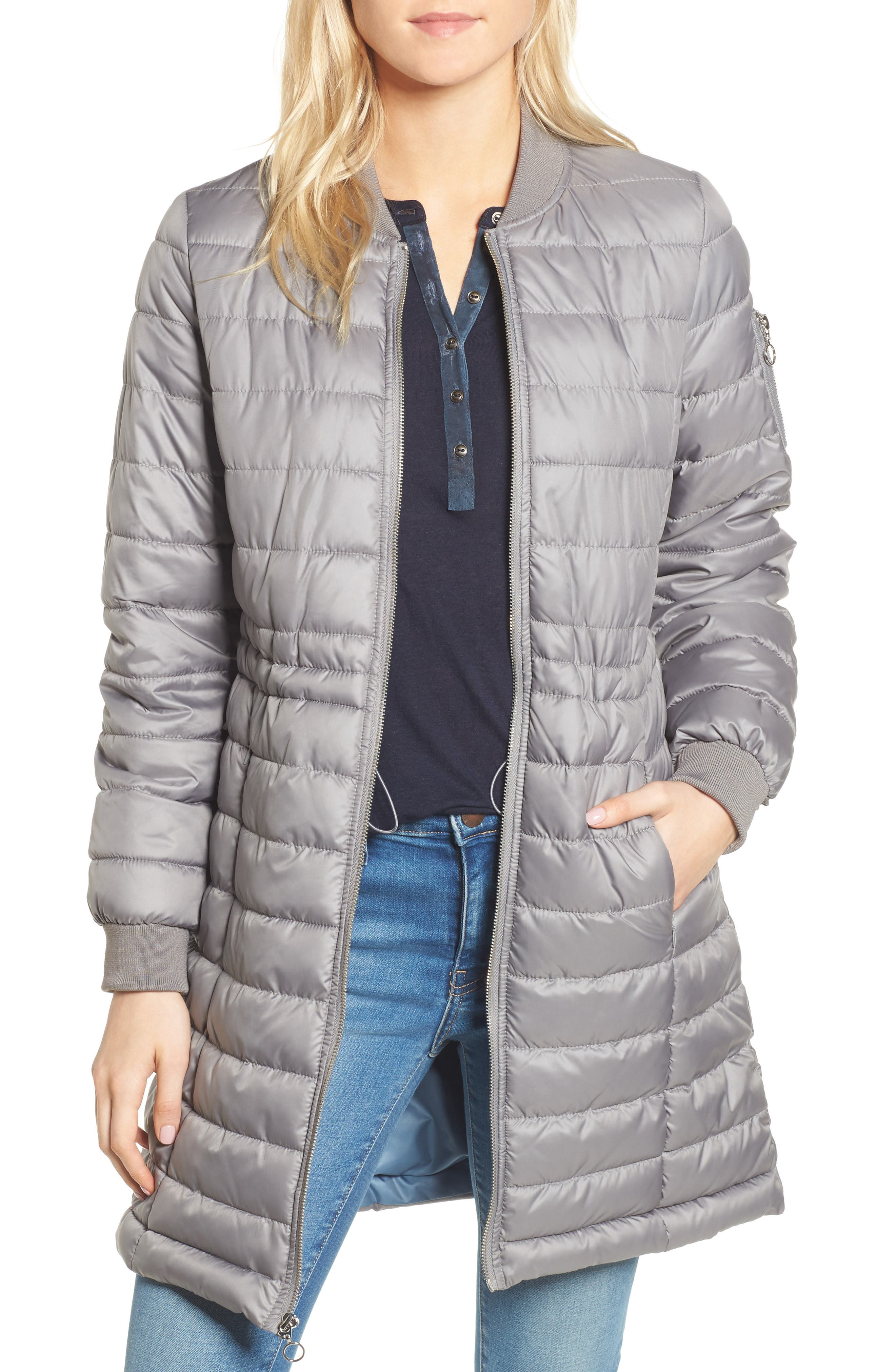 Lightweight Quilted Puffer Coat,                             Main thumbnail 2, color,