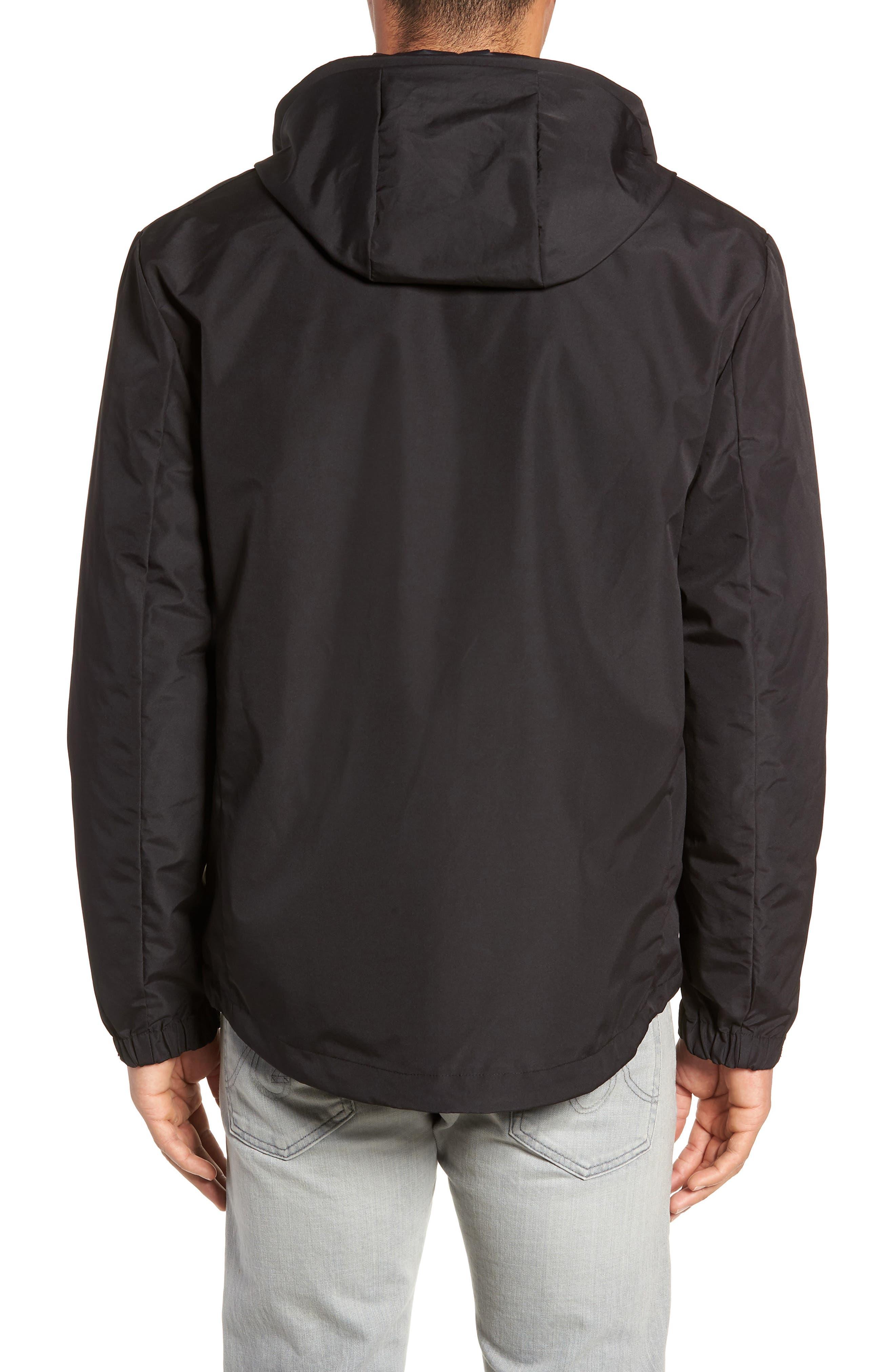 3-in-1 Rain Jacket,                             Alternate thumbnail 3, color,                             BLACK