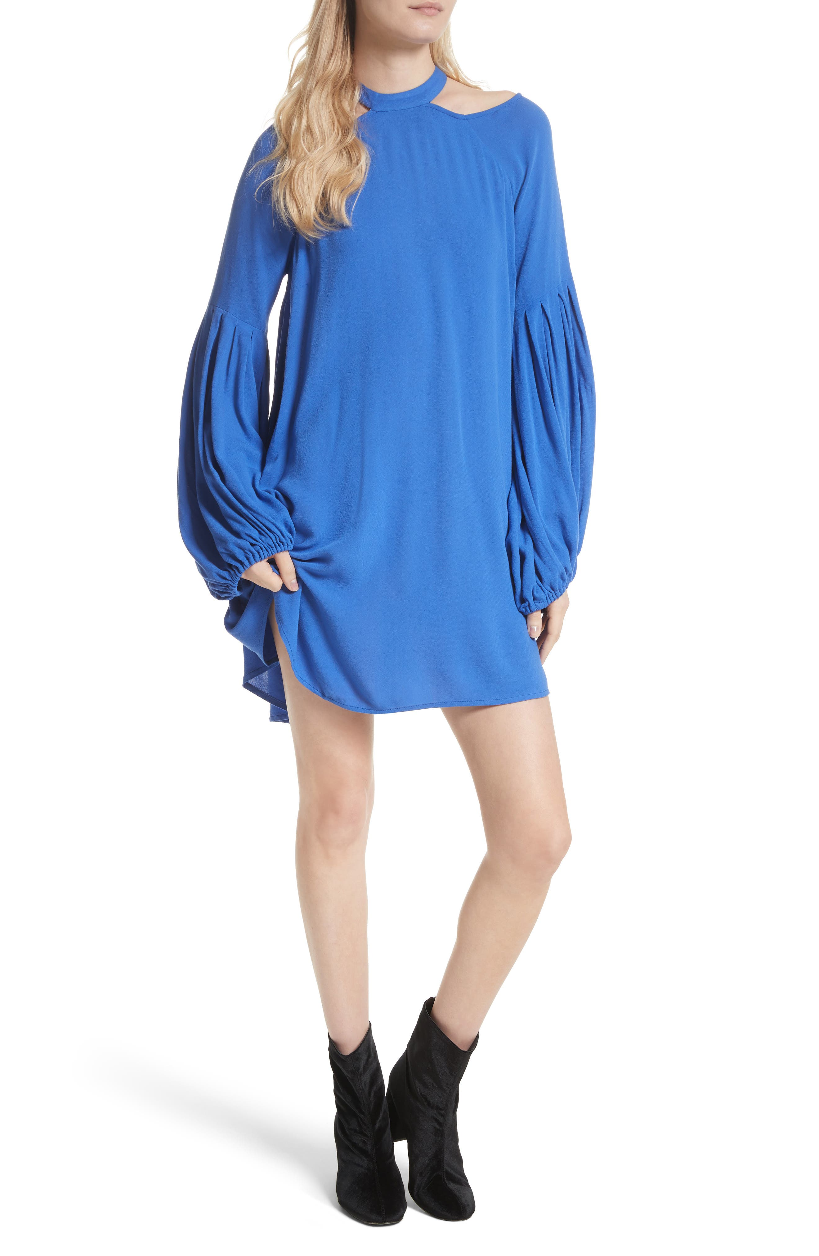 Drift Away Cold Shoulder Tunic,                         Main,                         color, 400