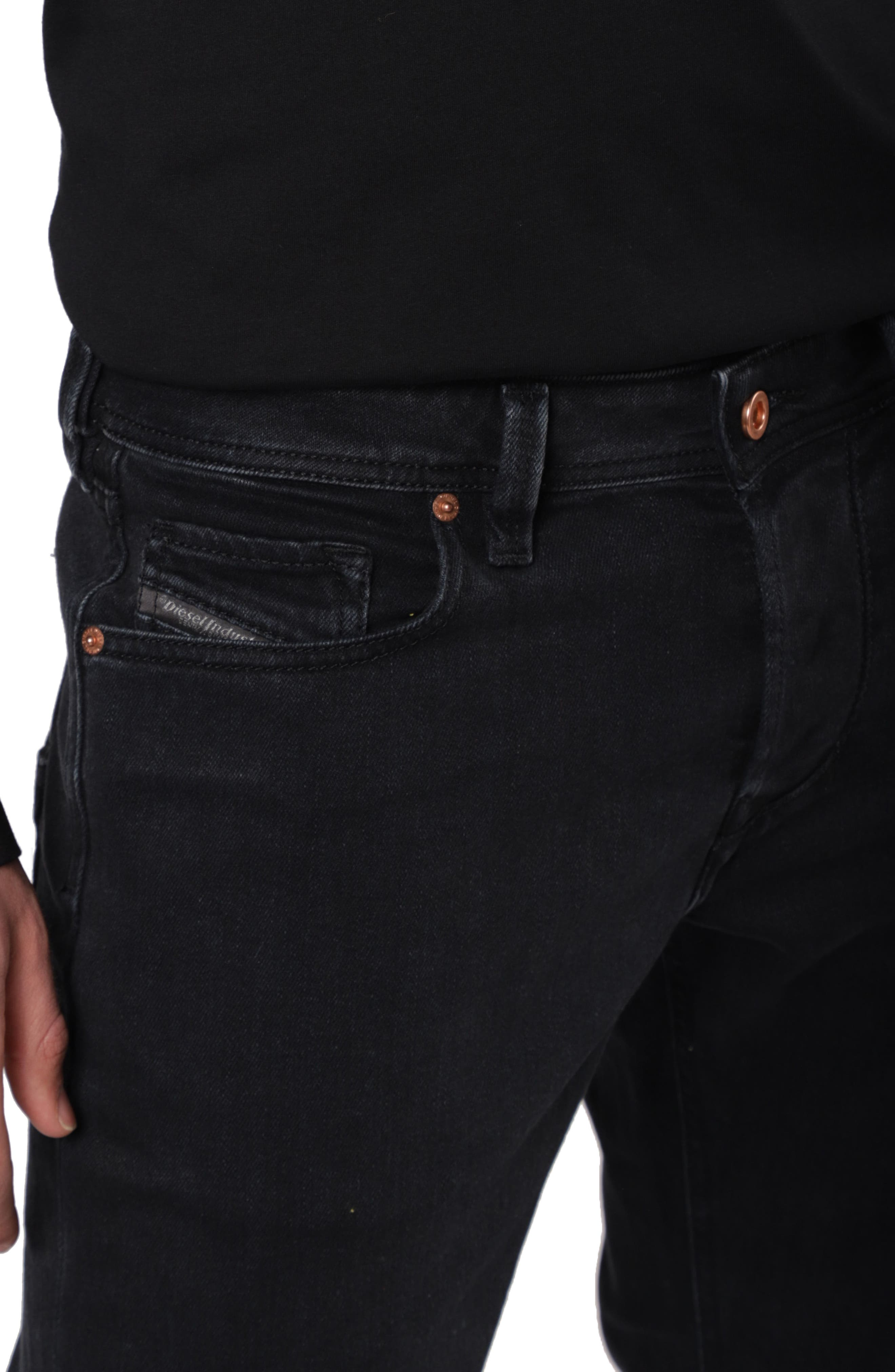 Larkee Relaxed Fit Jeans,                             Alternate thumbnail 3, color,                             008