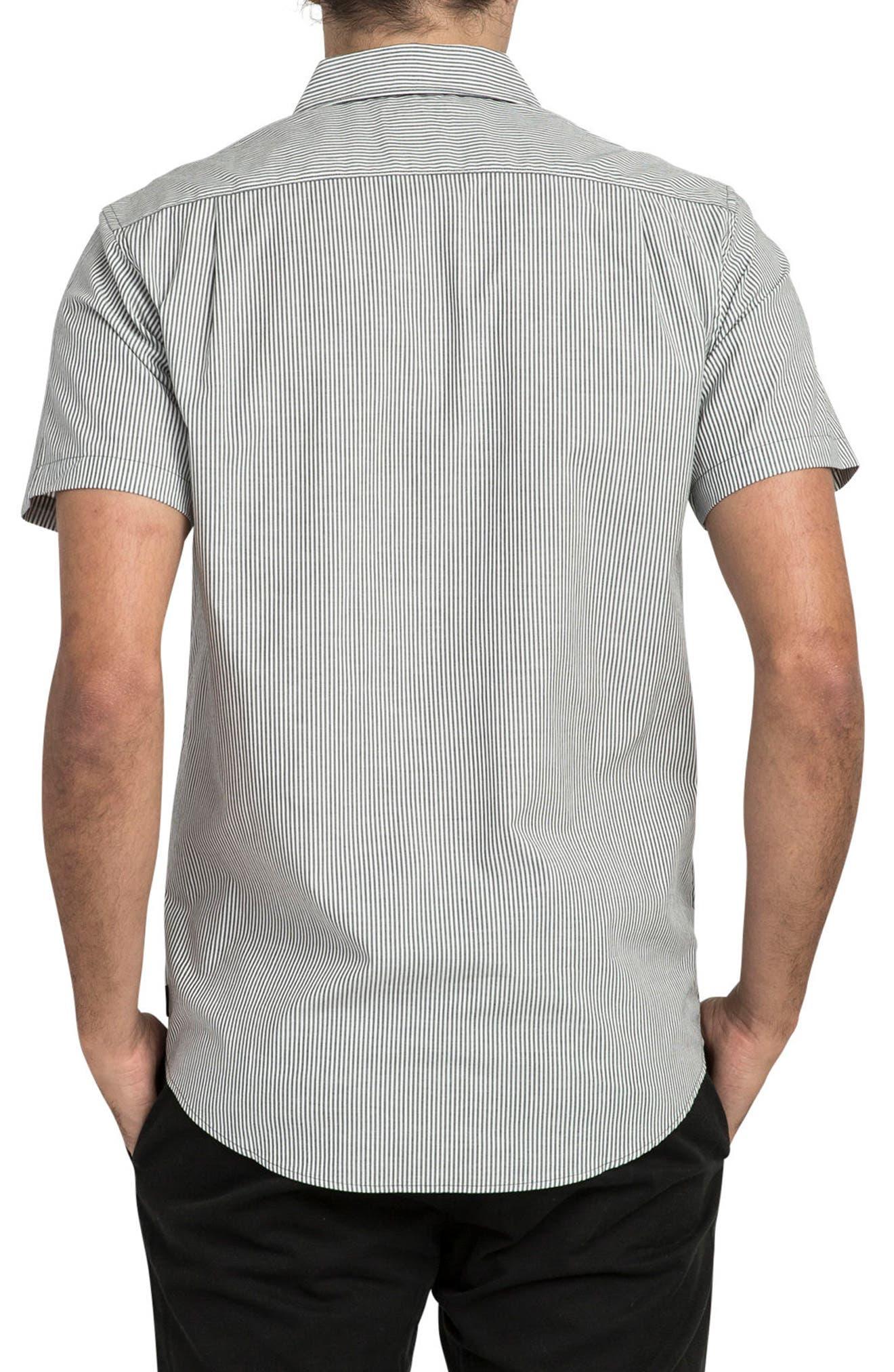 resort Disruption Woven Shirt,                             Alternate thumbnail 2, color,                             001