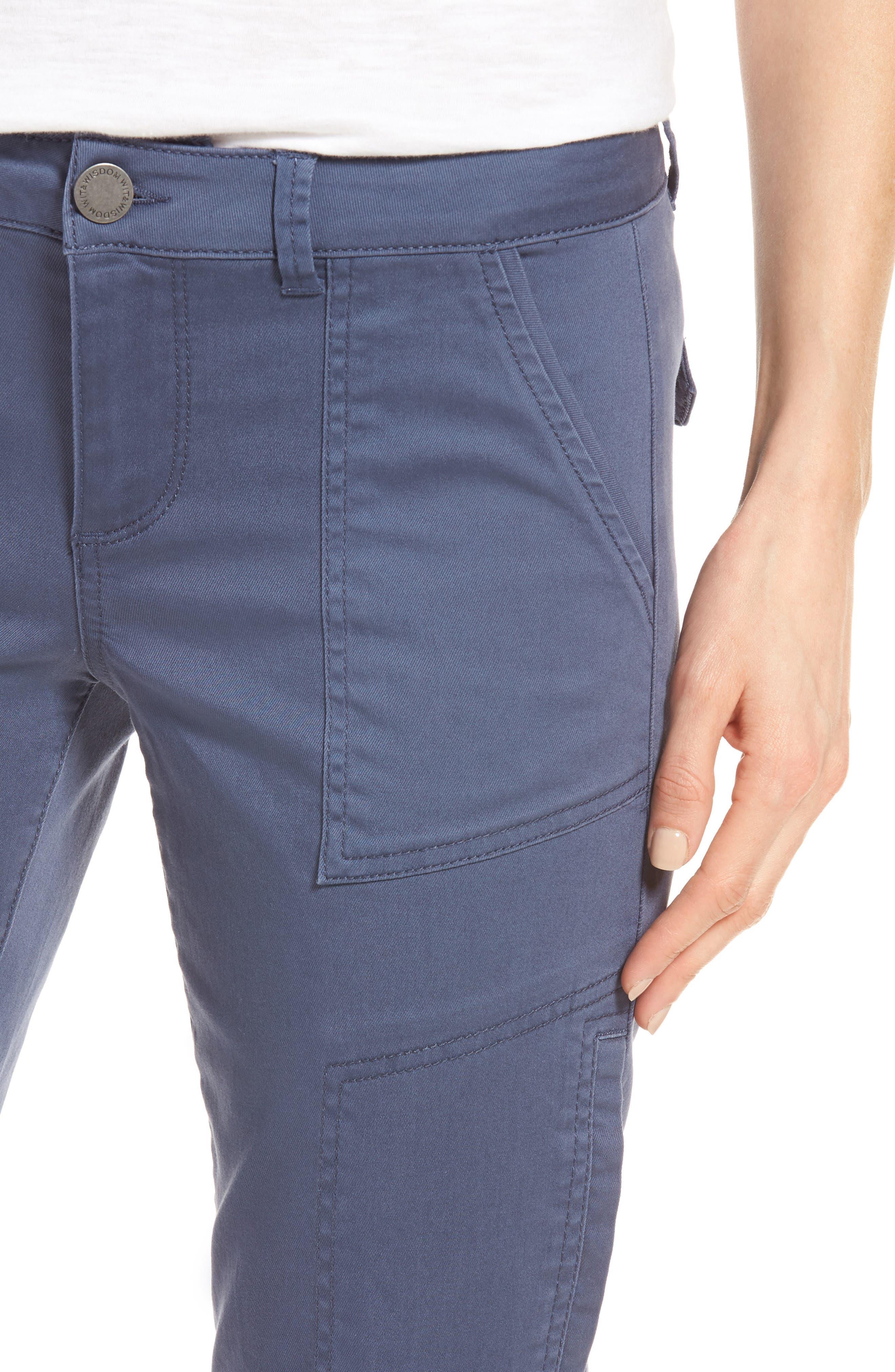 Skinny Cargo Pants,                             Alternate thumbnail 51, color,
