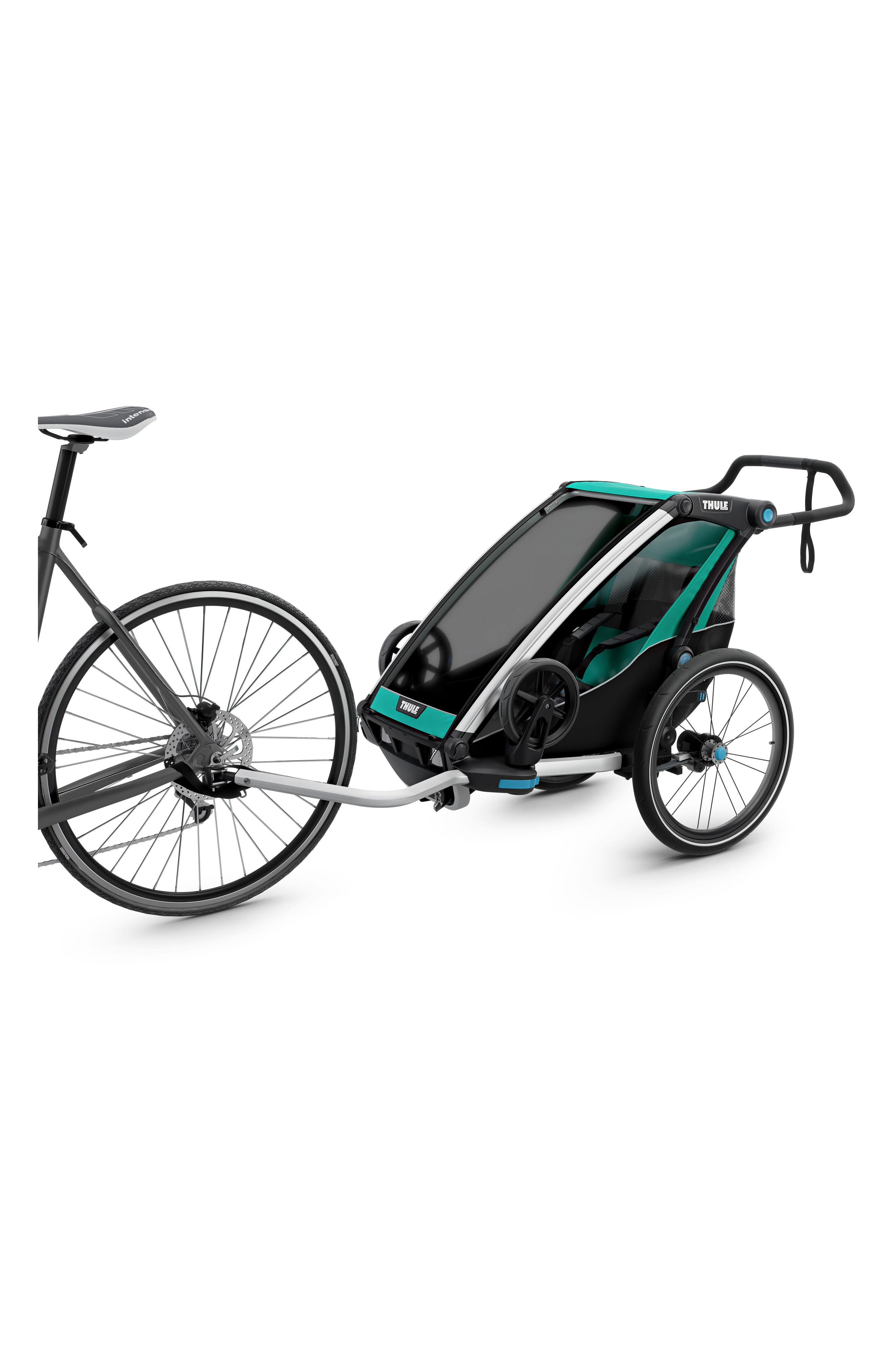 Chariot Lite Multisport Cycle Trailer/Stroller,                             Alternate thumbnail 3, color,                             BLUEGRASS