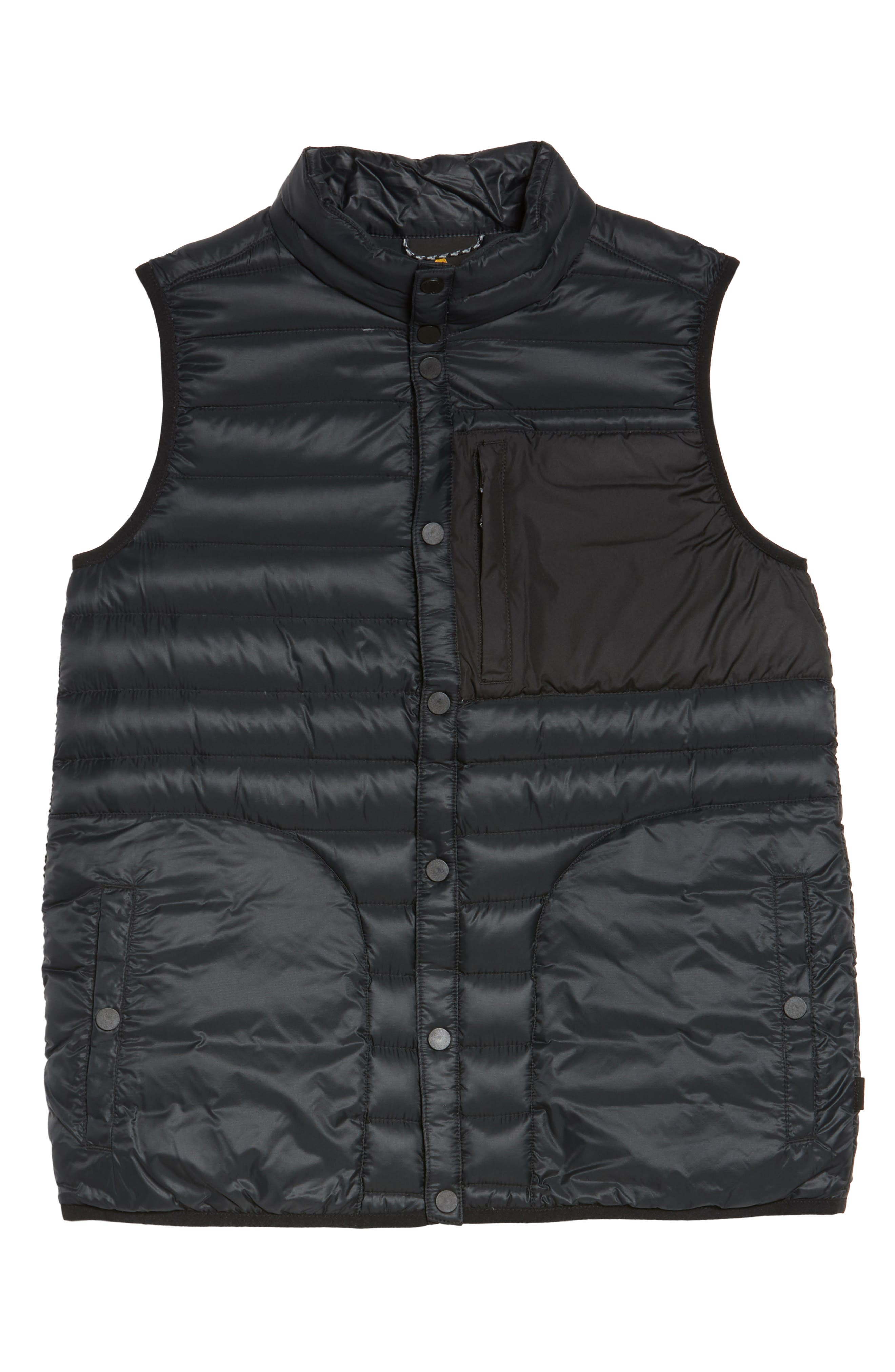 Evergreen Water-Resistant Down Insulator Vest,                             Alternate thumbnail 9, color,