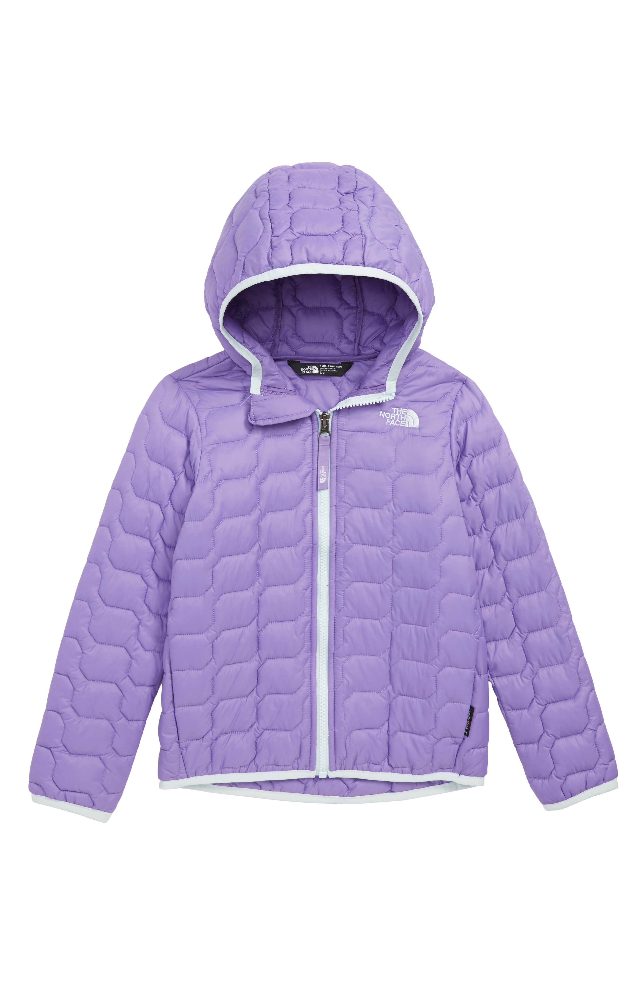 Thermoball<sup>™</sup> PrimaLoft<sup>®</sup> Hooded Jacket,                         Main,                         color, DAHLIA PURPLE