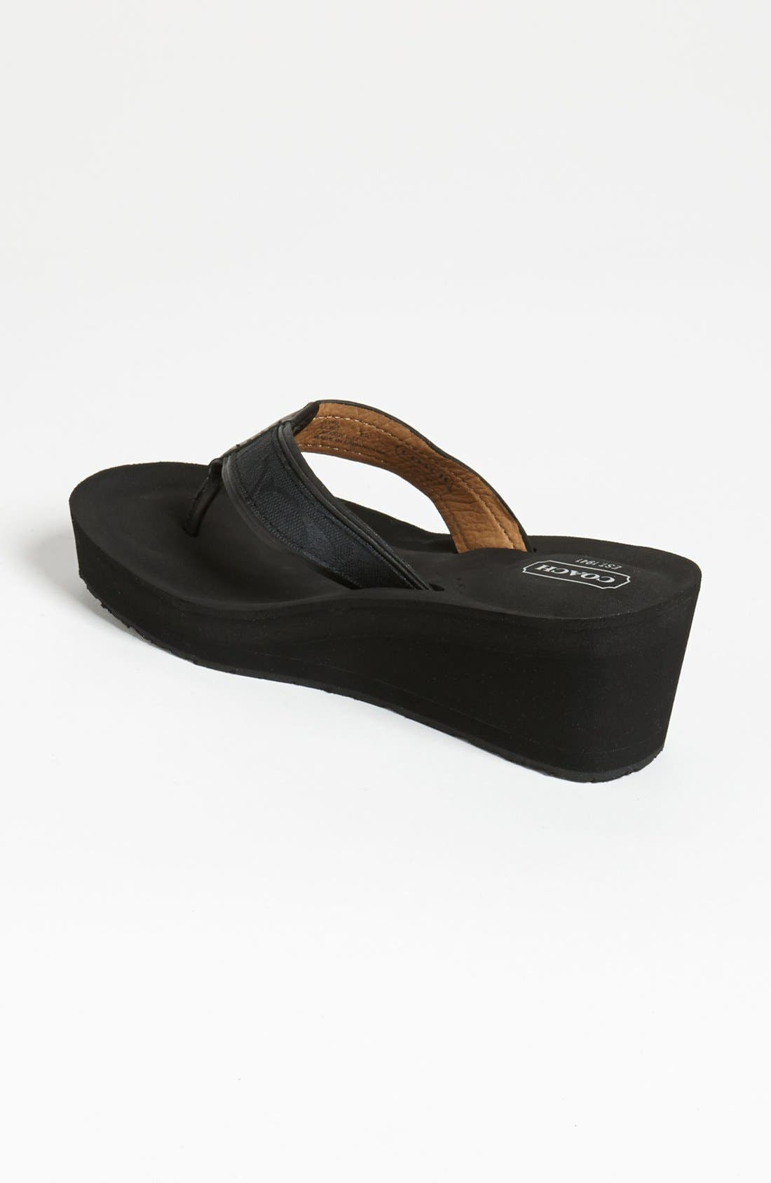 'Juliet' Flip Flop,                             Alternate thumbnail 3, color,                             002