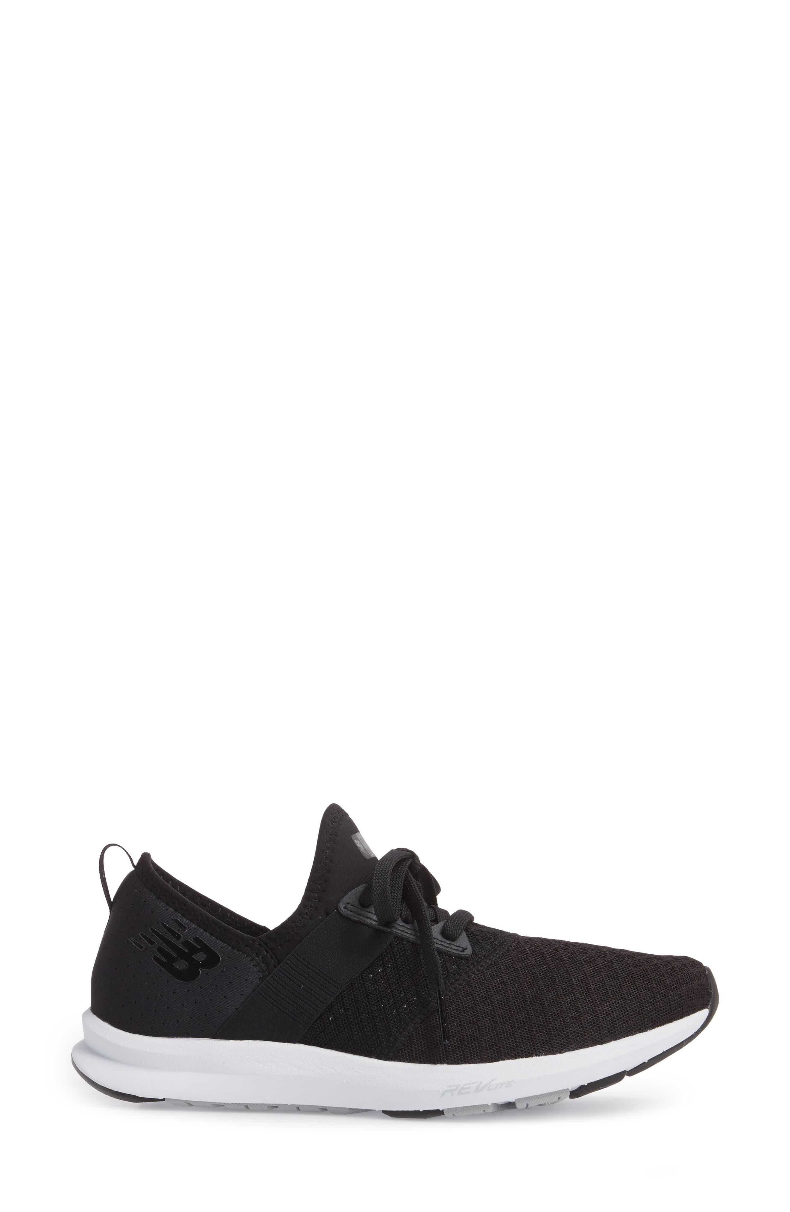 FuelCore NERGIZE Sneaker,                             Alternate thumbnail 3, color,                             BLACK