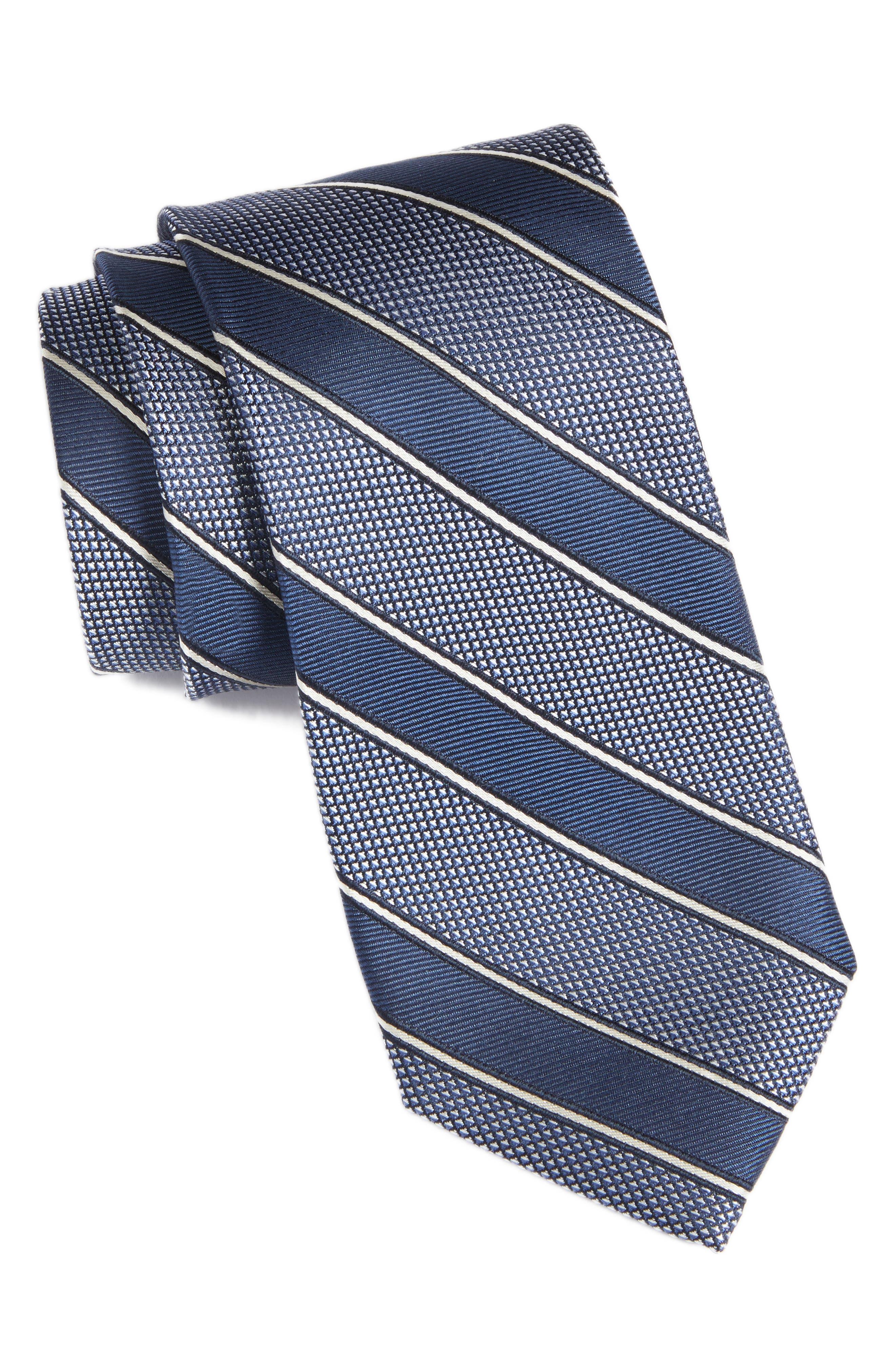 Copio Stripe Silk Tie,                         Main,                         color, 410