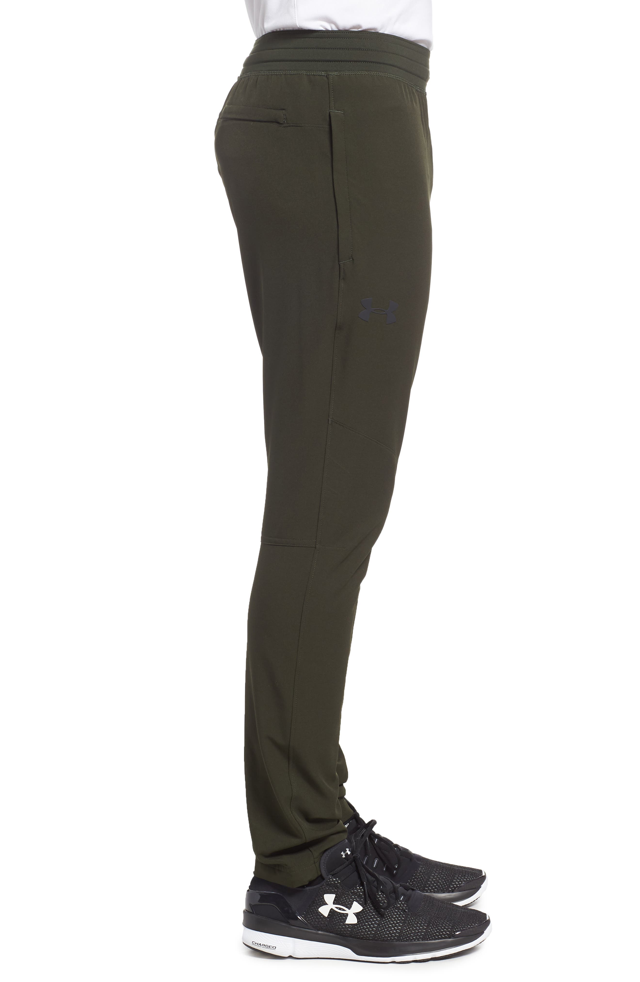 Fitted Woven Training Pants,                             Alternate thumbnail 17, color,
