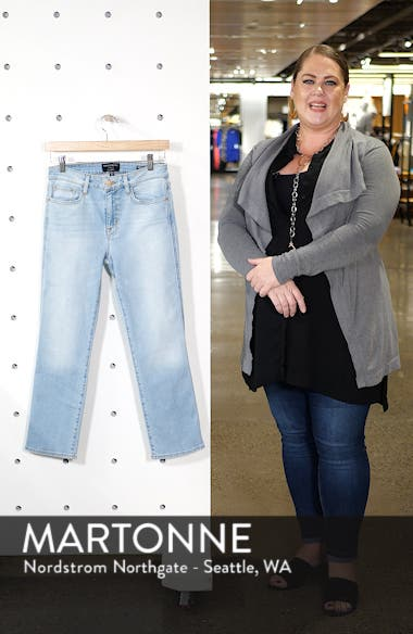 Modern Crop Straight Leg Jeans, sales video thumbnail