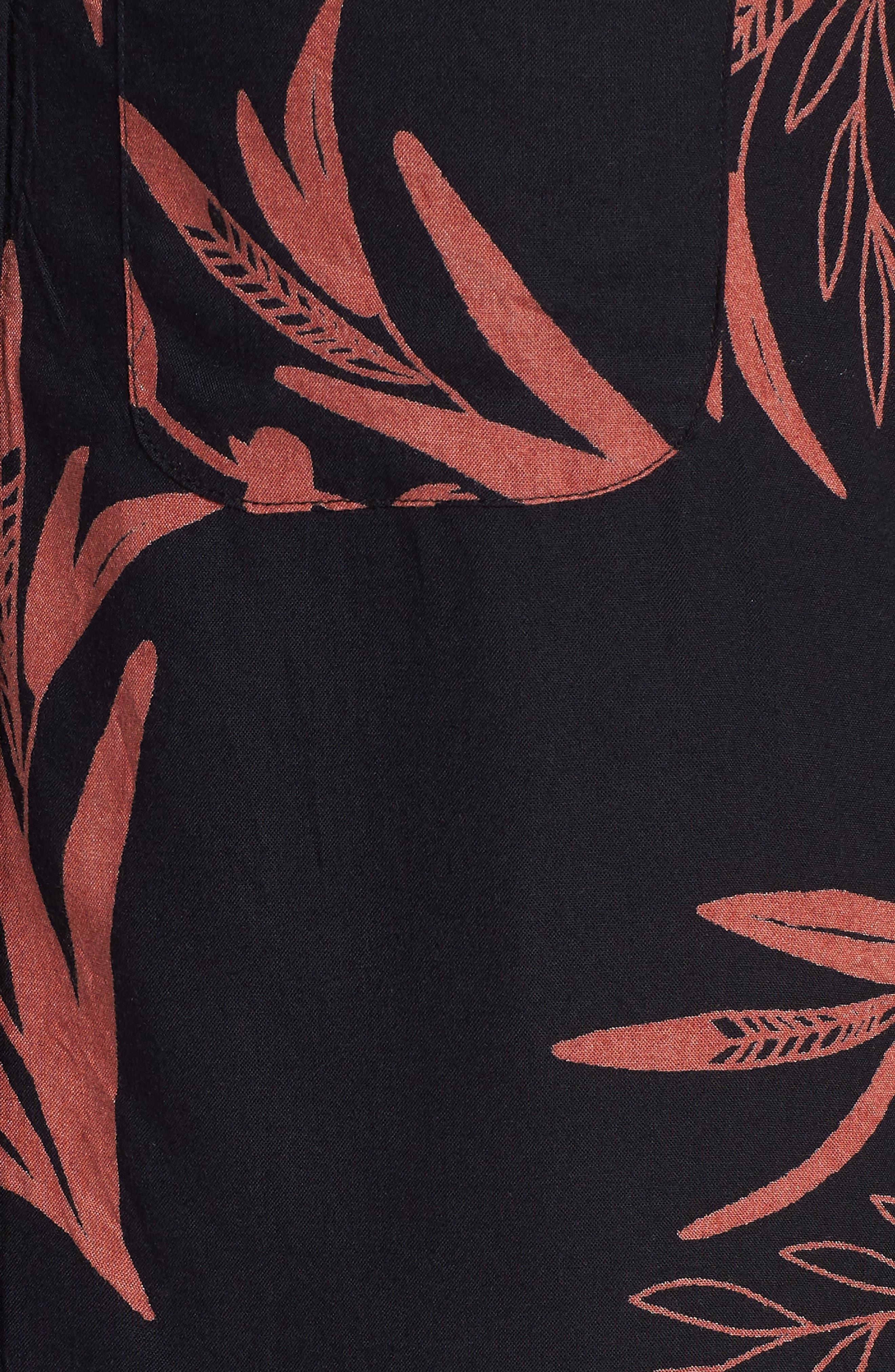 Simmer Short Sleeve Shirt,                             Alternate thumbnail 5, color,                             001