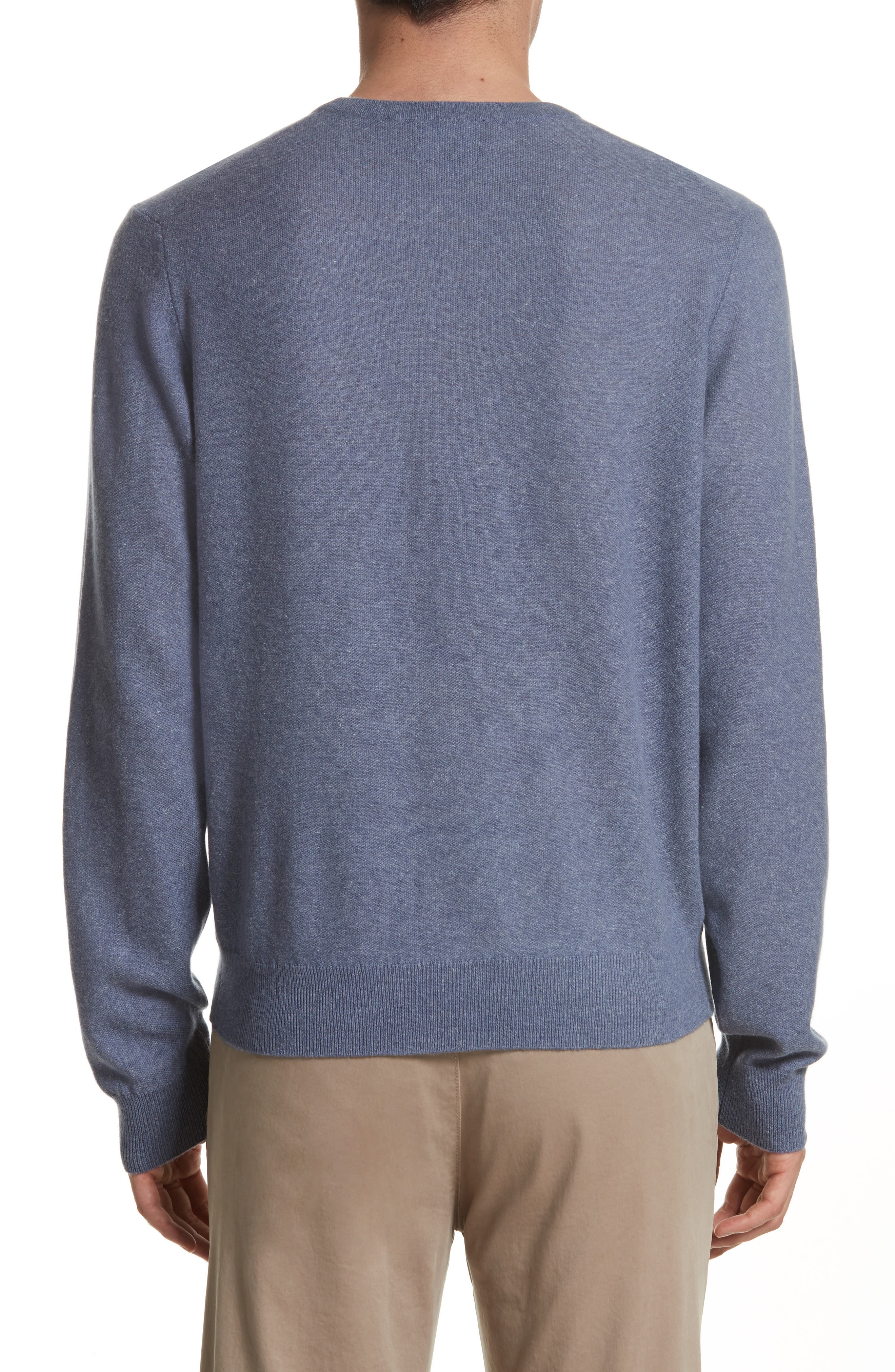 Cashmere & Linen Crewneck Sweater,                             Alternate thumbnail 2, color,                             475