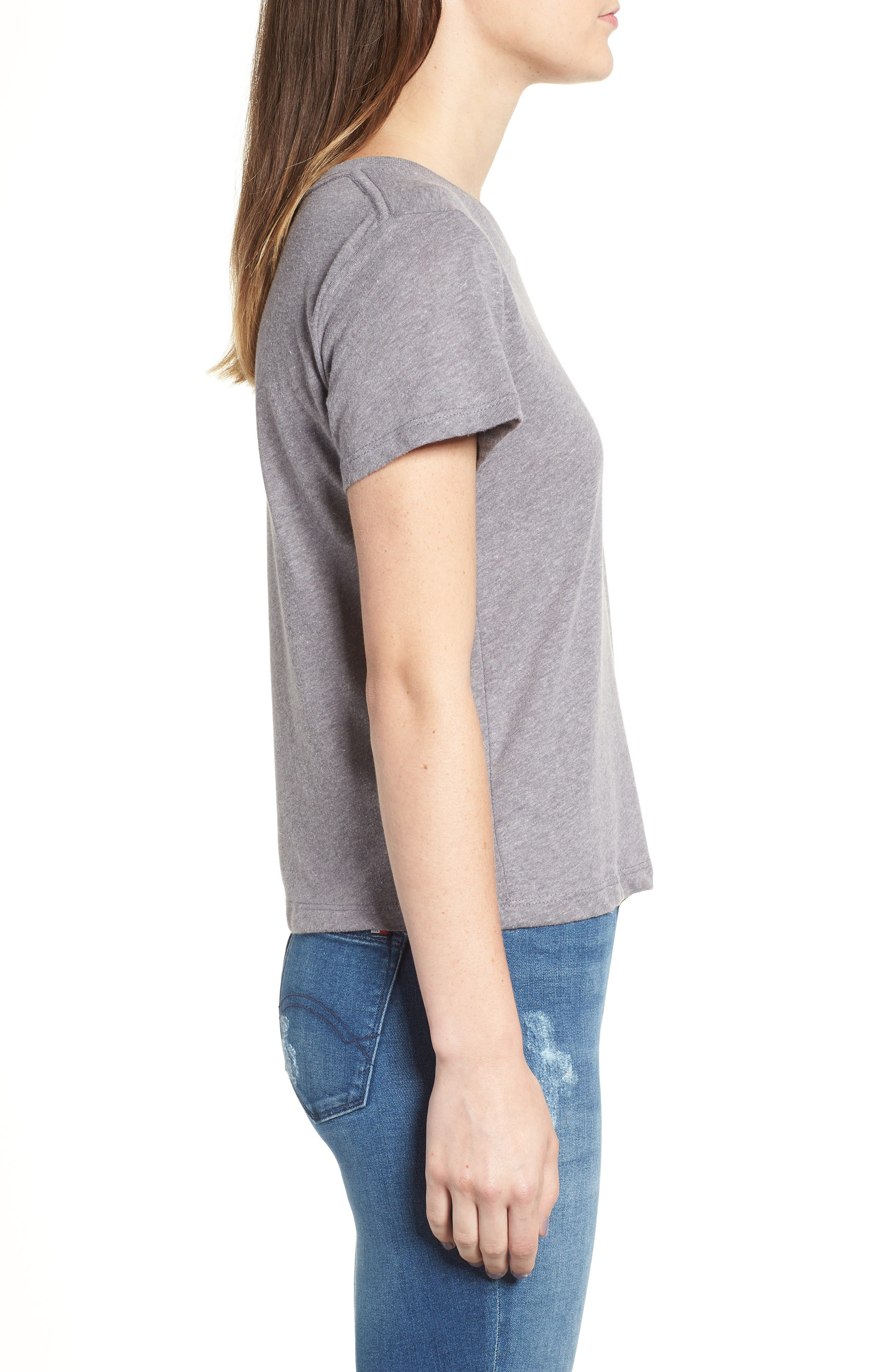 Embroidered Heart Tee,                             Alternate thumbnail 5, color,