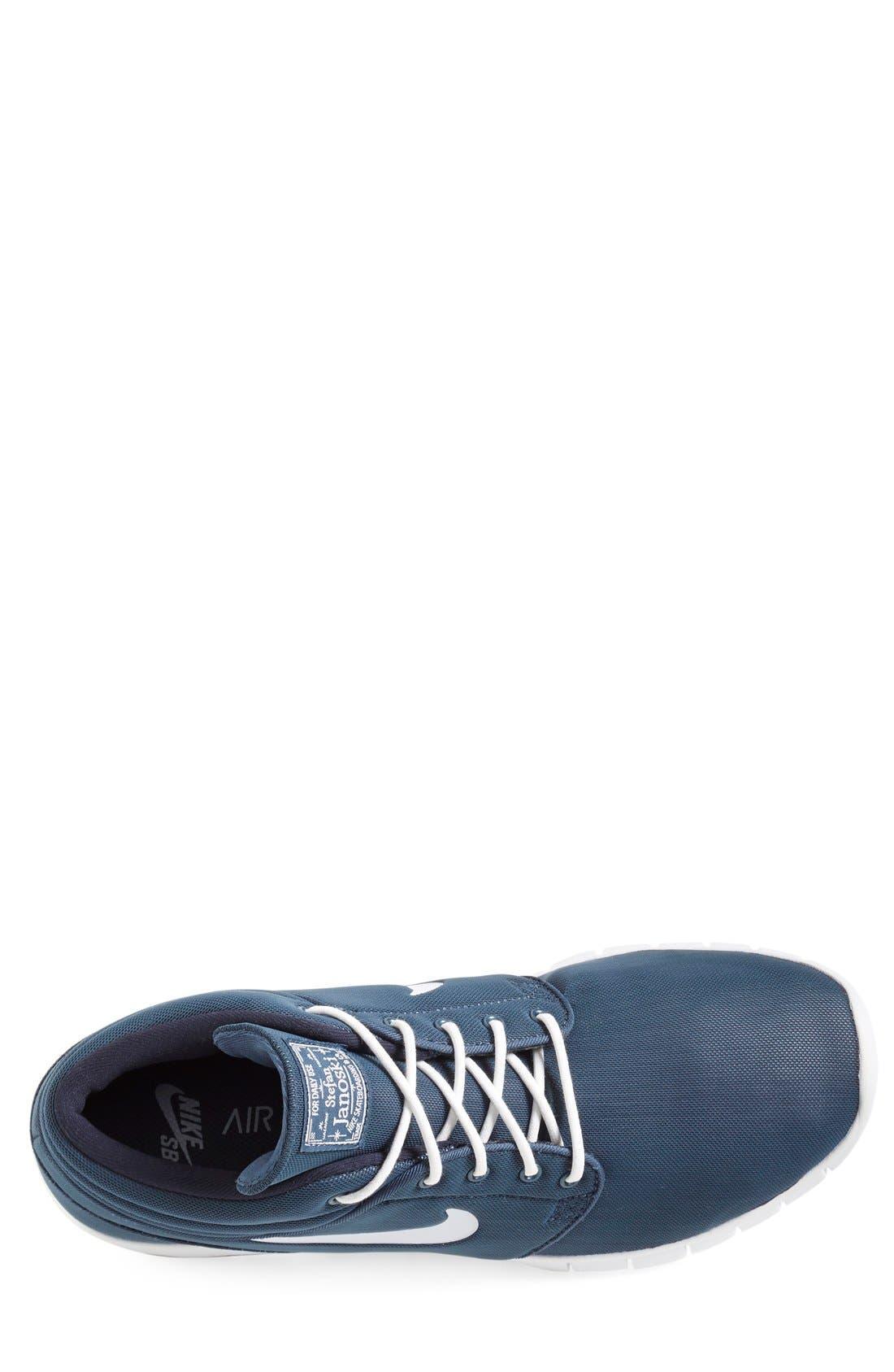 SB Stefan Janoski Max Mid Skate Shoe,                             Alternate thumbnail 36, color,