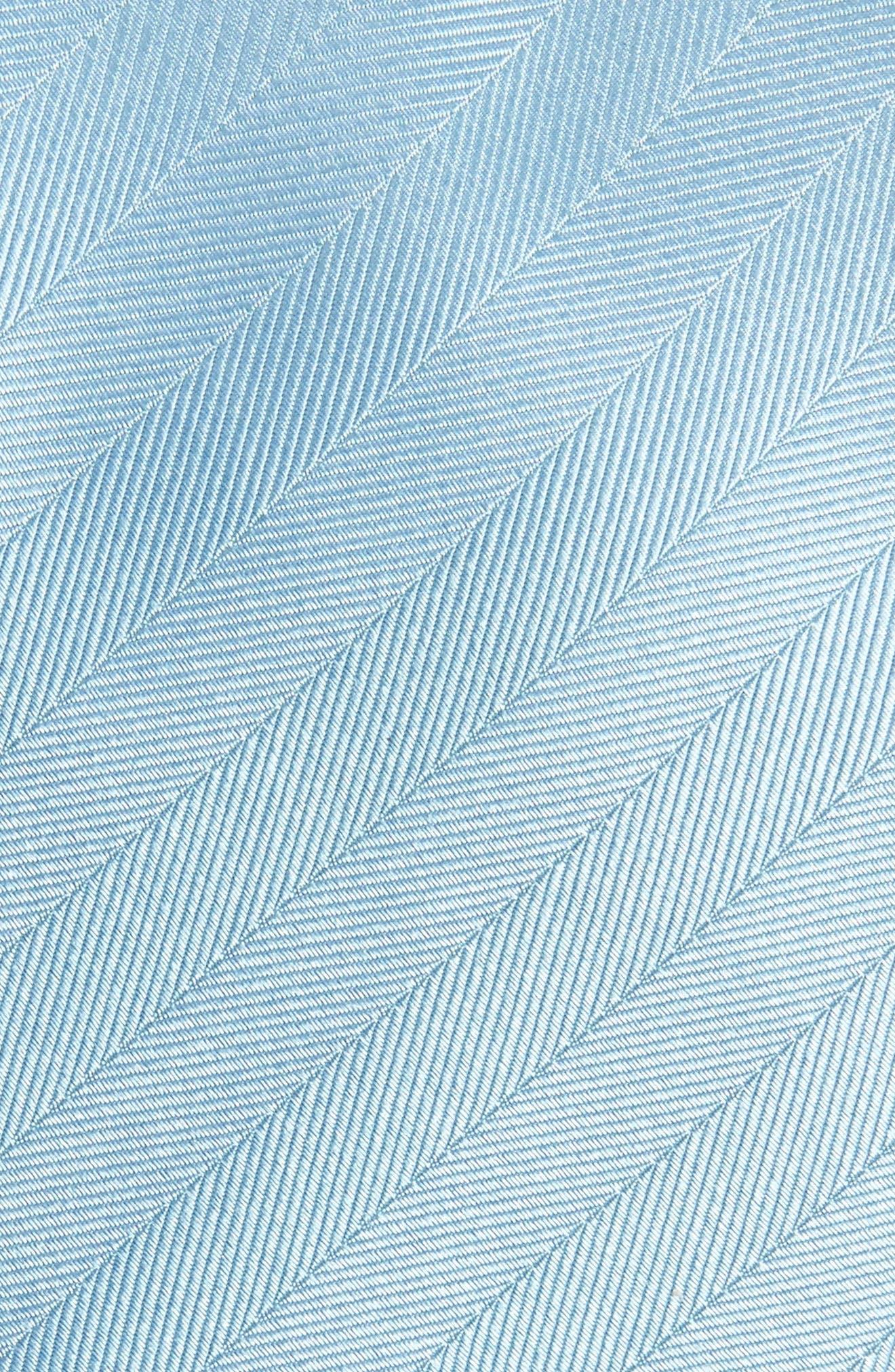 Herringbone Silk Tie,                             Alternate thumbnail 12, color,