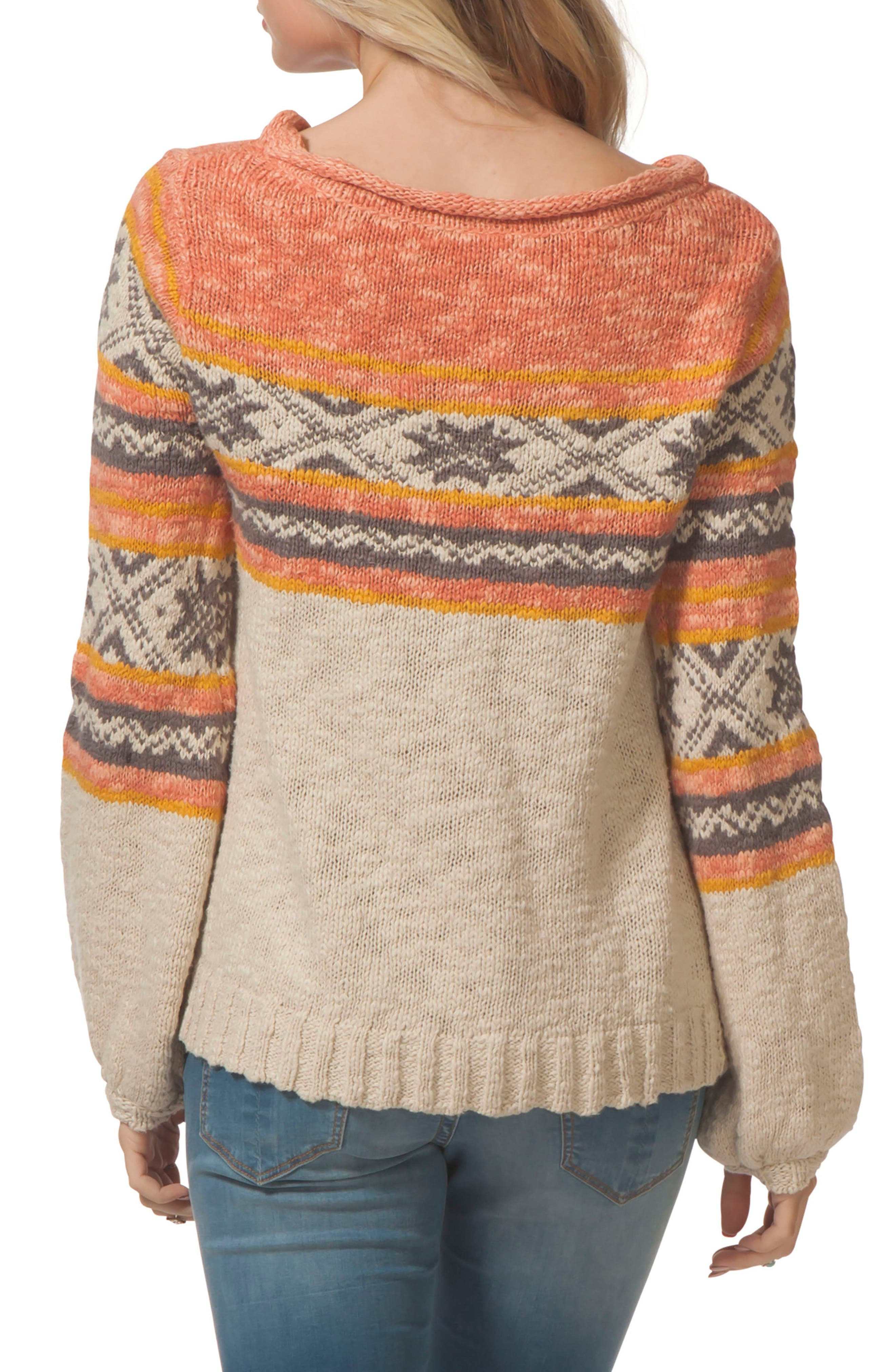 Snowed In Sweater,                             Alternate thumbnail 2, color,                             901