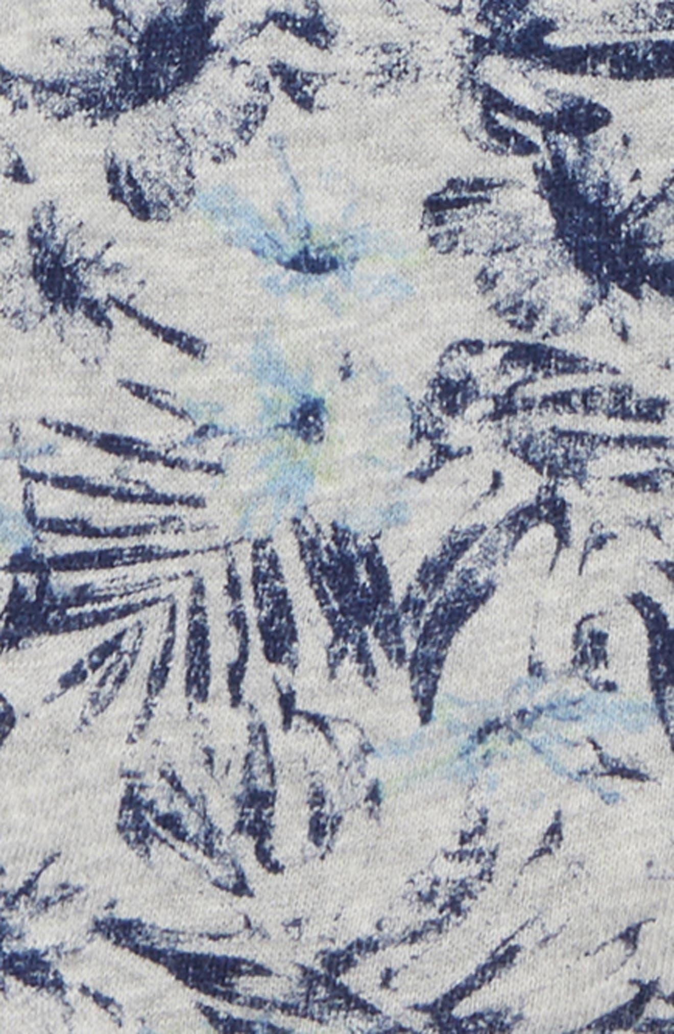 Henley T-Shirt & Print Shorts,                             Alternate thumbnail 2, color,                             430