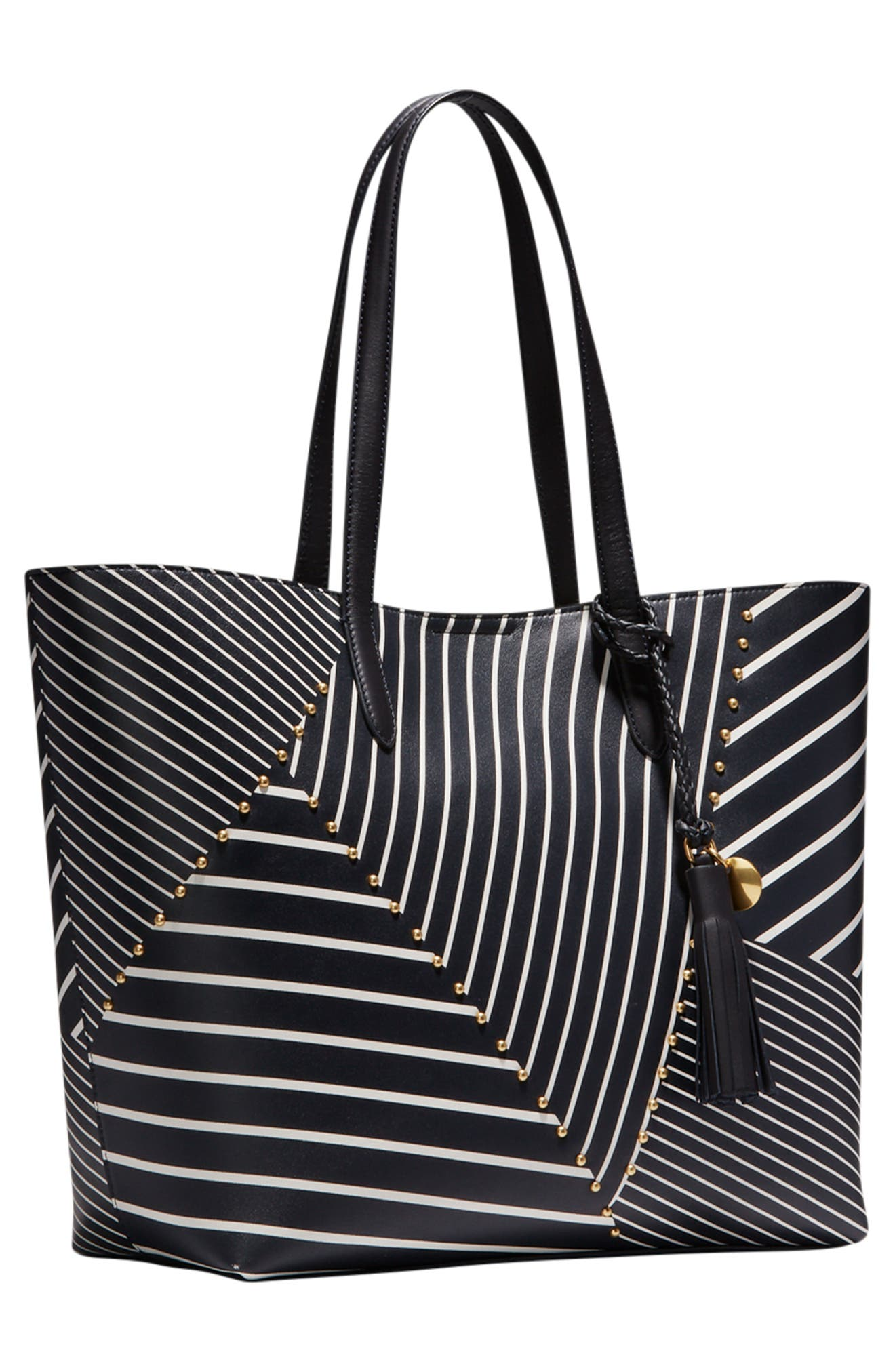 Payson Print Tote,                             Alternate thumbnail 6, color,                             001