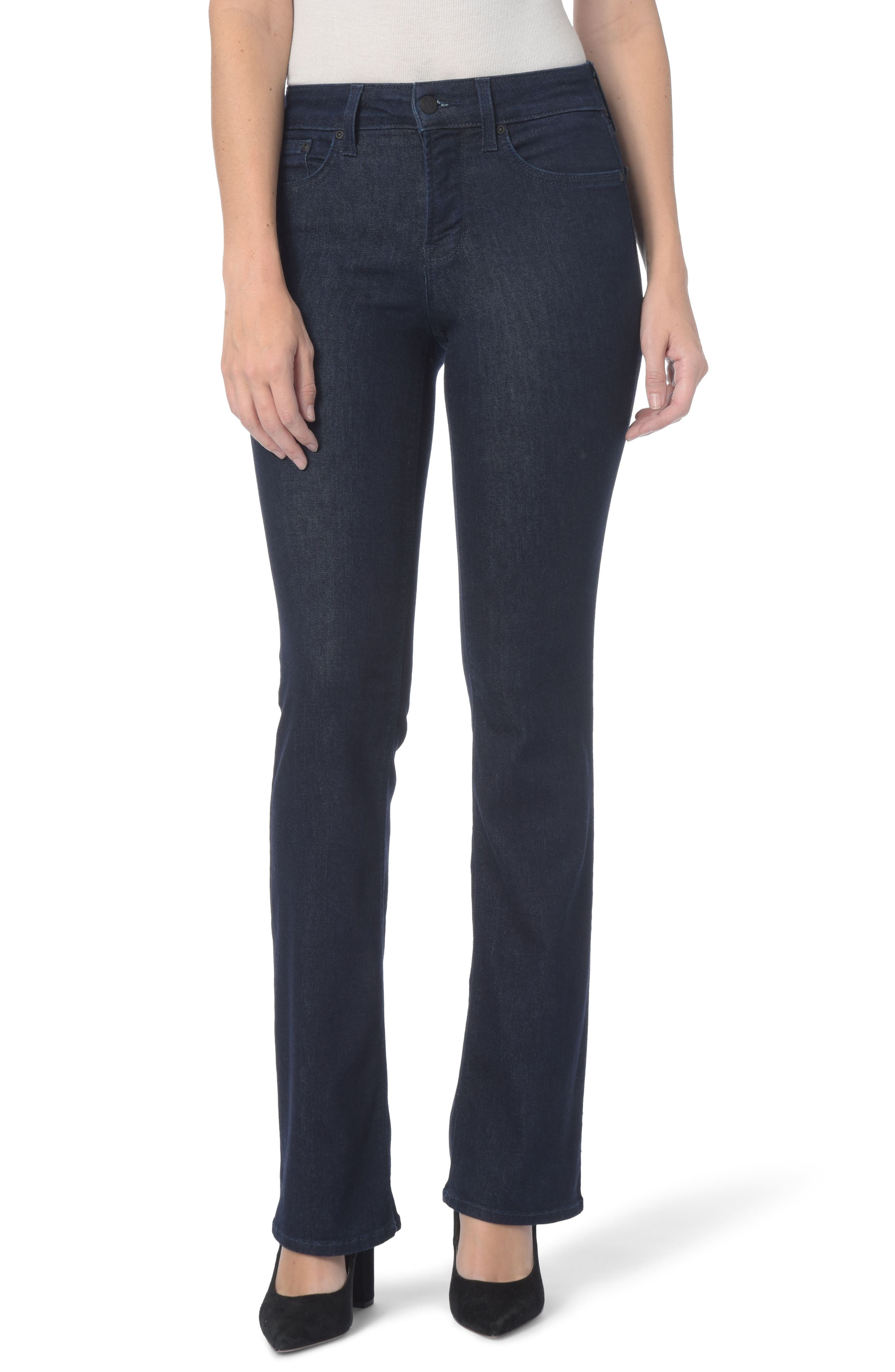 Barbara High Waist Bootcut Jeans,                         Main,                         color, RINSE
