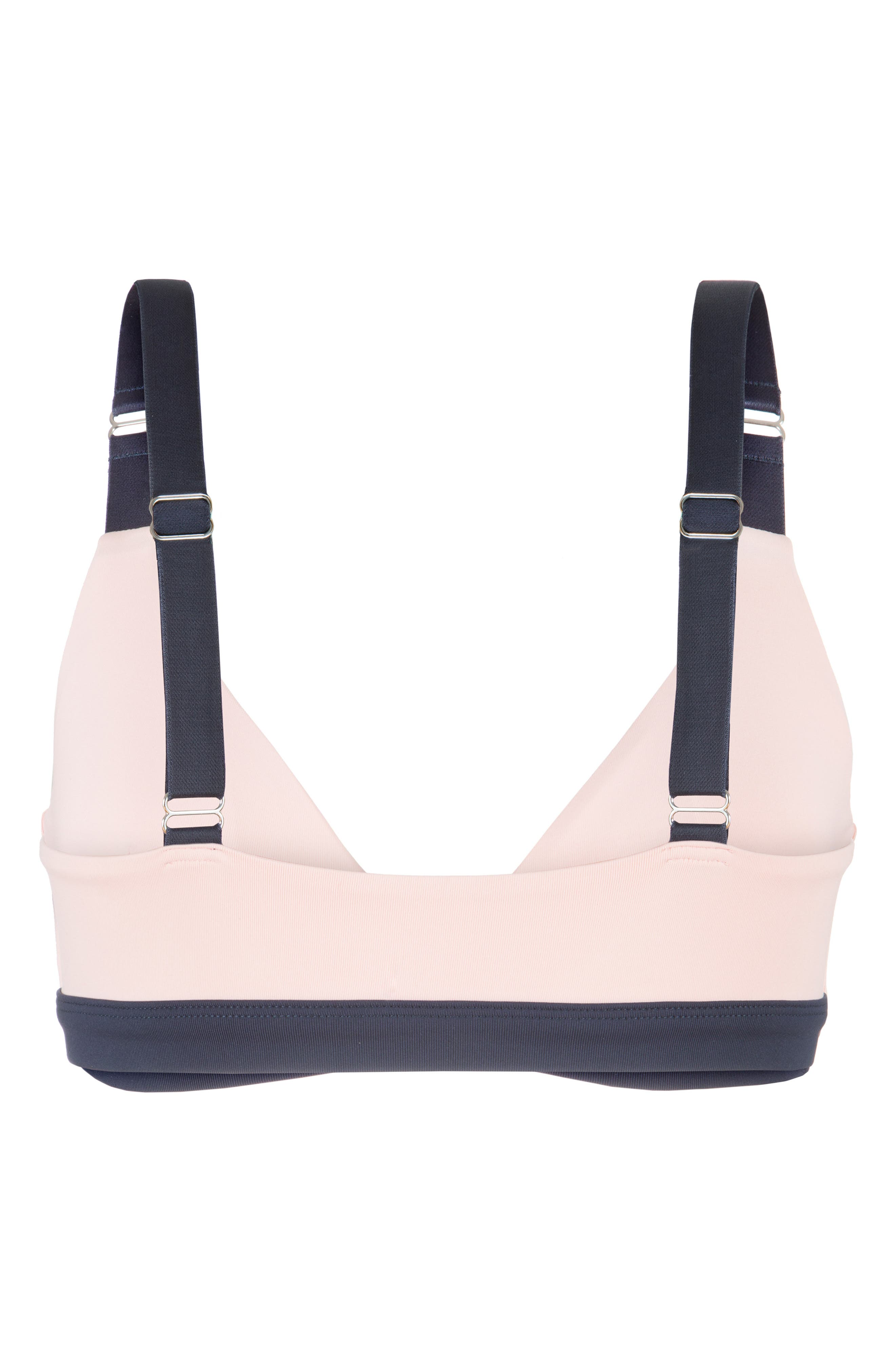 The Active Bralette,                             Alternate thumbnail 3, color,                             POWDER PINK/ LIVELY NAVY