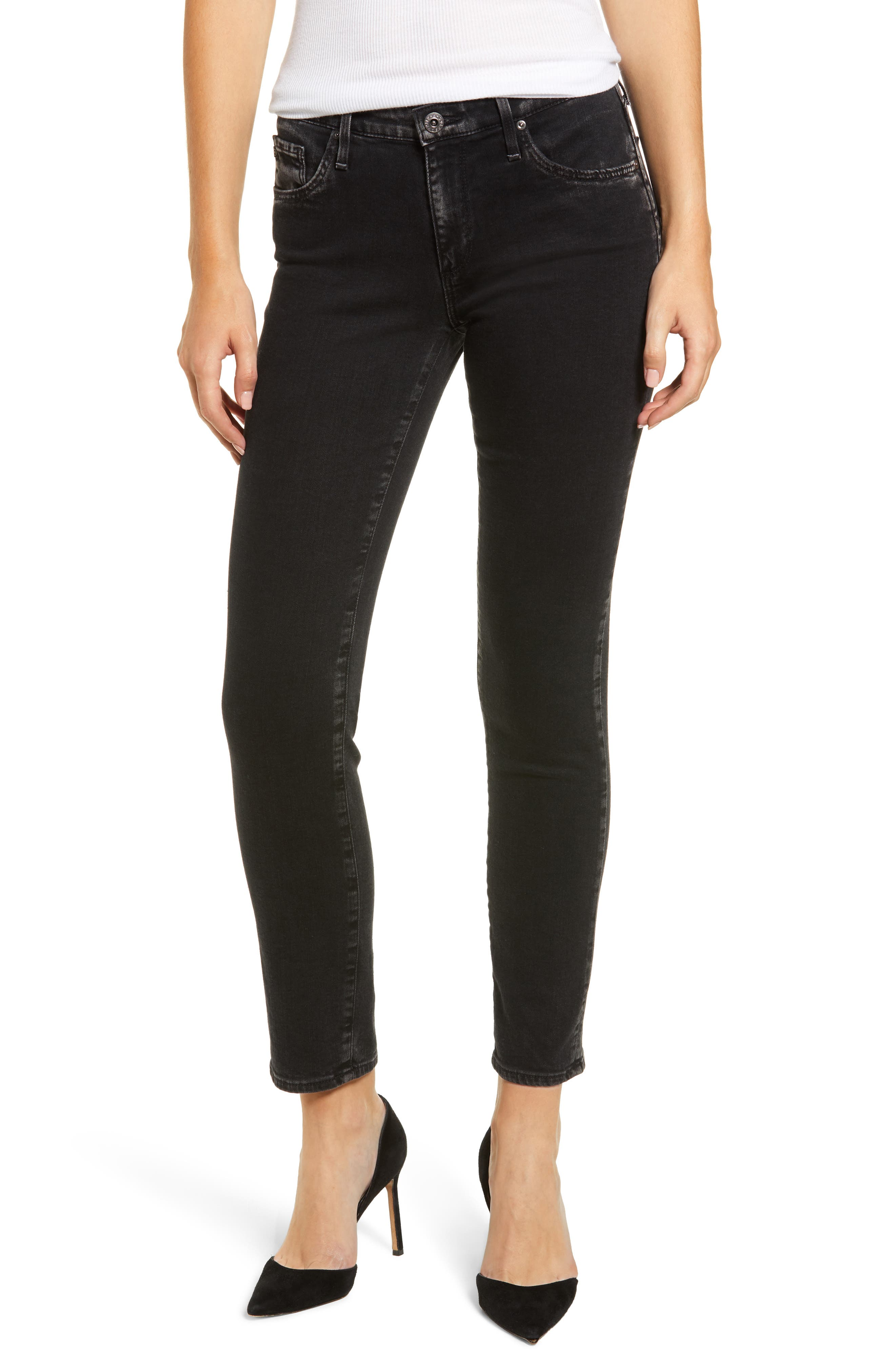 'The Legging' Ankle Super Skinny Jeans,                         Main,                         color,