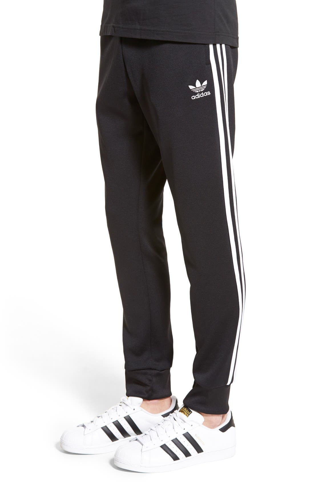 'Superstar' Track Pants,                             Alternate thumbnail 9, color,                             001