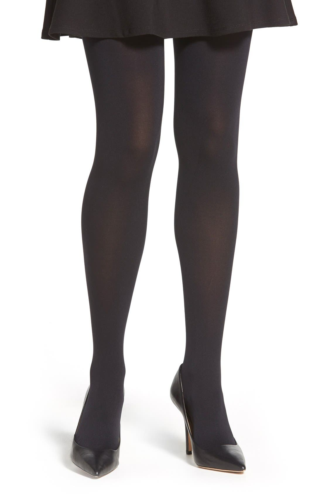 PRETTY POLLY,                             'Legs on the Go' Tights,                             Main thumbnail 1, color,                             007