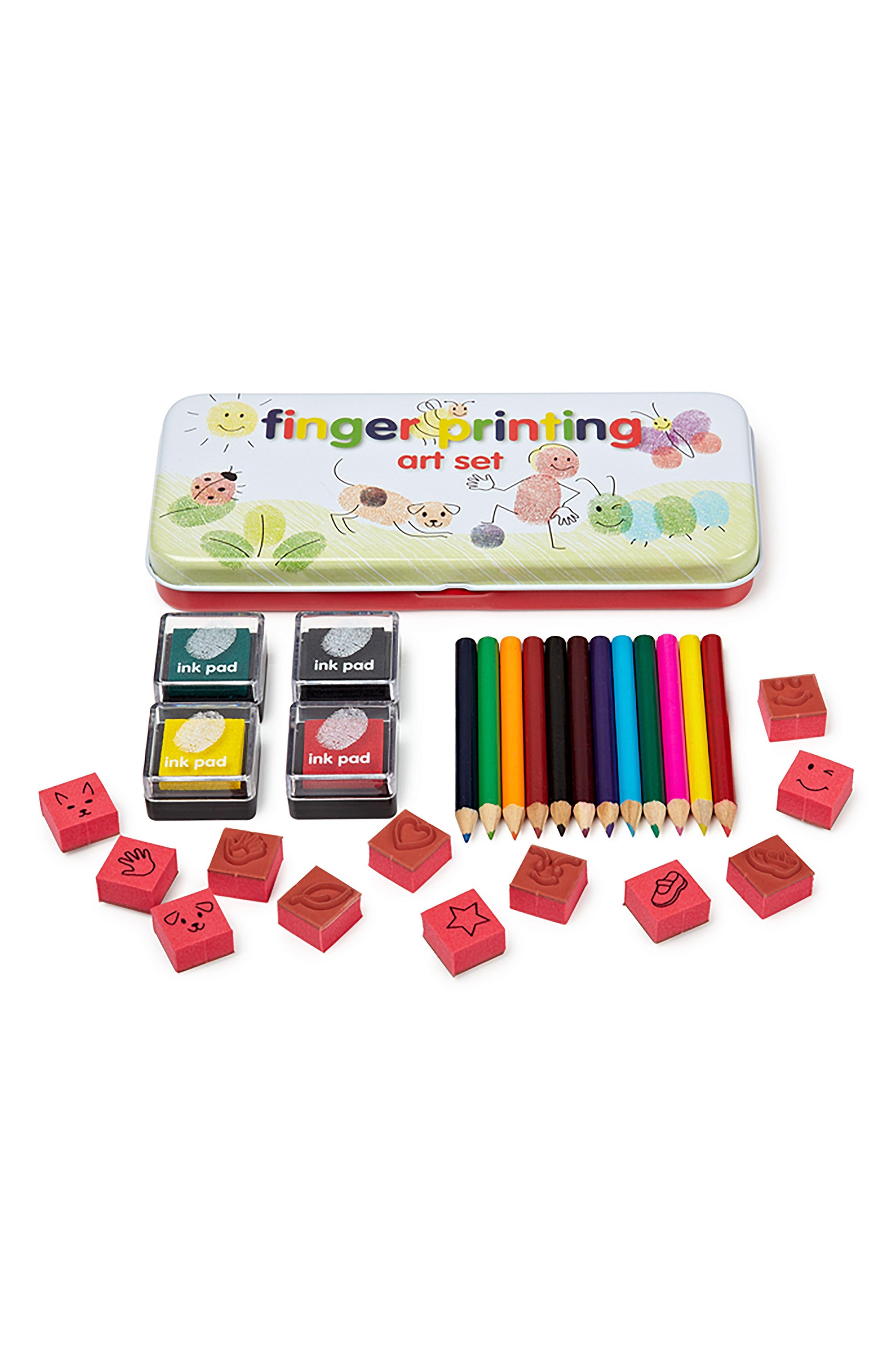 NPW,                             Fingerprint Art Set,                             Alternate thumbnail 2, color,                             100