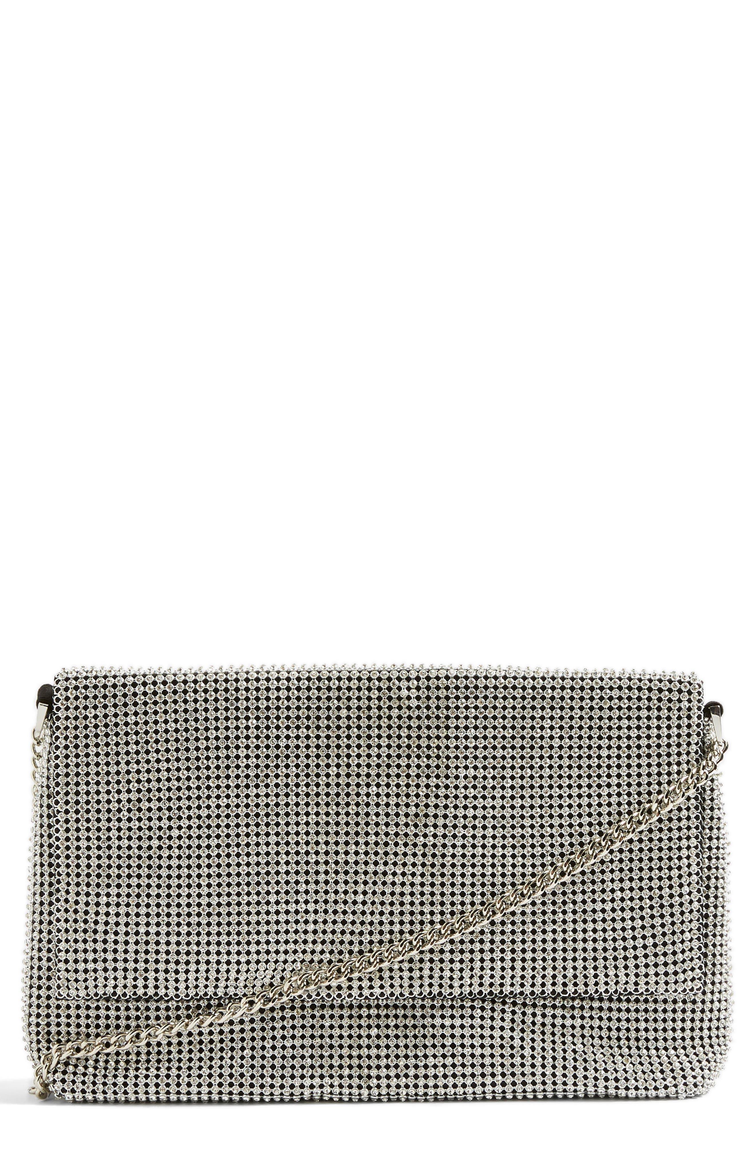 Diana Diamante Clutch Bag,                             Main thumbnail 1, color,