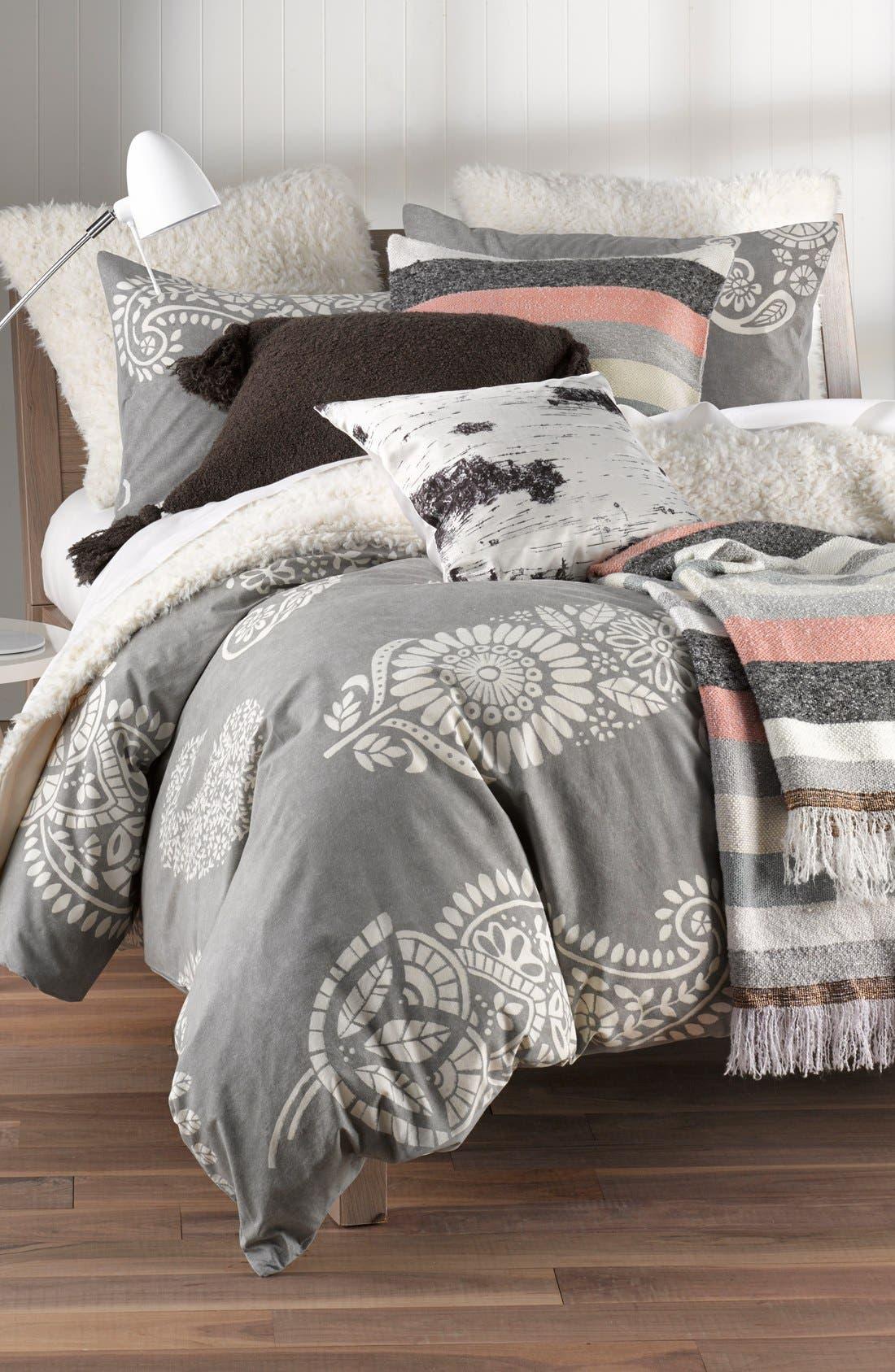 'Shaggy Plush' Faux Fur Blanket,                             Alternate thumbnail 5, color,                             900