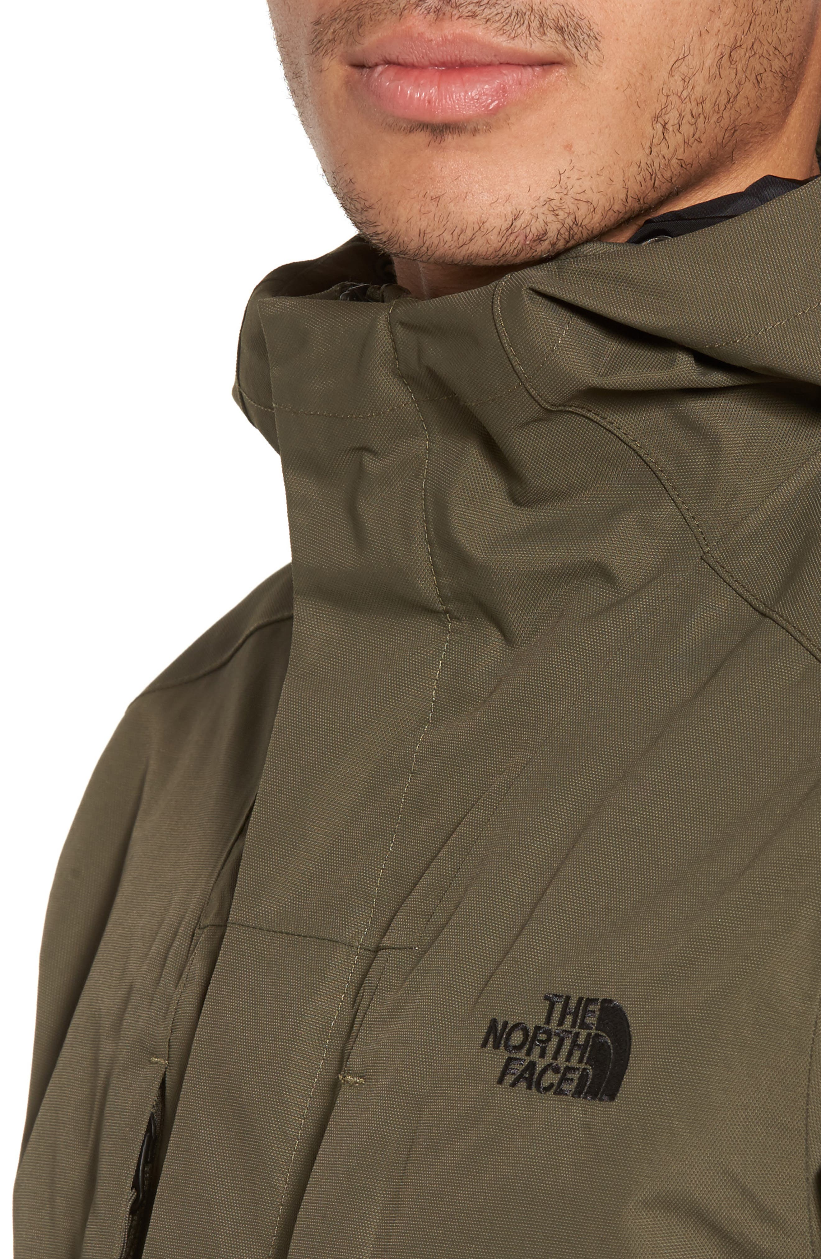 El Misti Trench II Hooded Jacket,                             Alternate thumbnail 4, color,                             NEW TAUPE GREEN