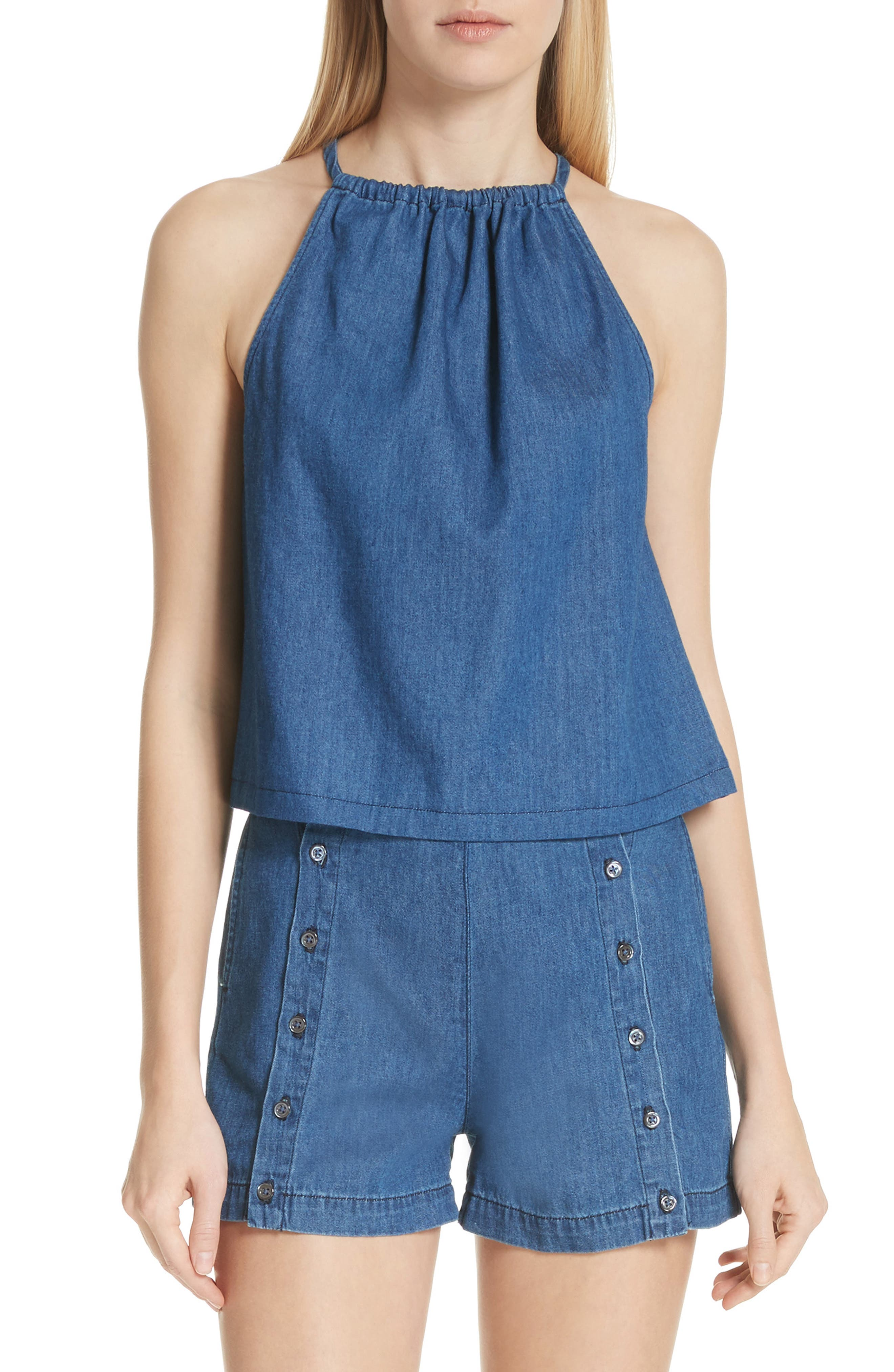 Jackie Halter Style Top,                         Main,                         color, 403