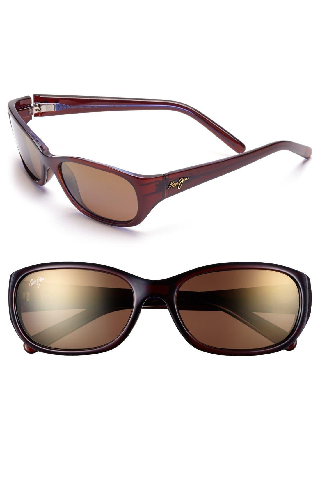 Kuiaha Bay 55mm PolarizedPlus<sup>®</sup> Sport Sunglasses,                             Main thumbnail 2, color,
