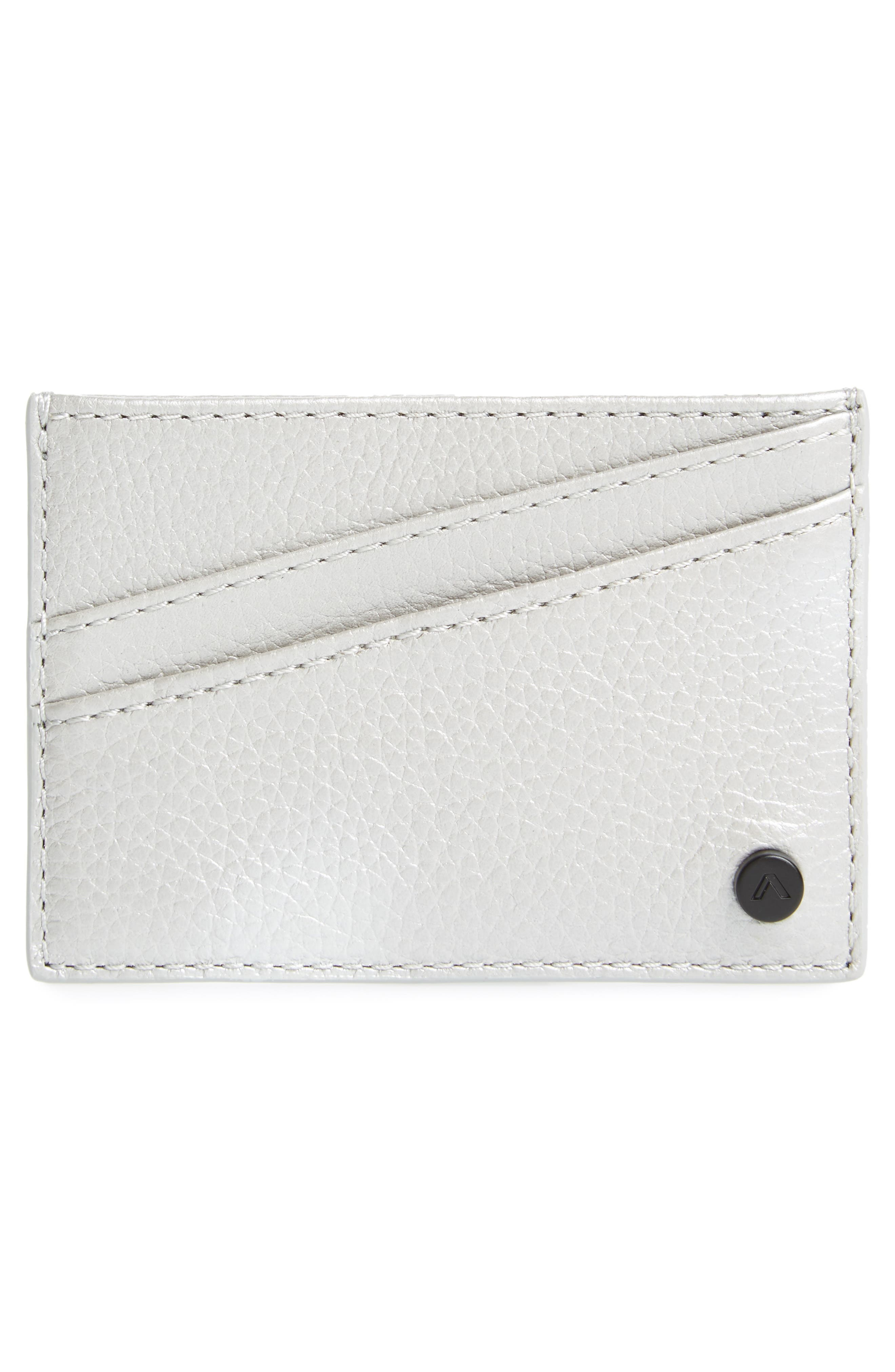 Greenwood Monaco Leather Card Case,                             Alternate thumbnail 2, color,                             040
