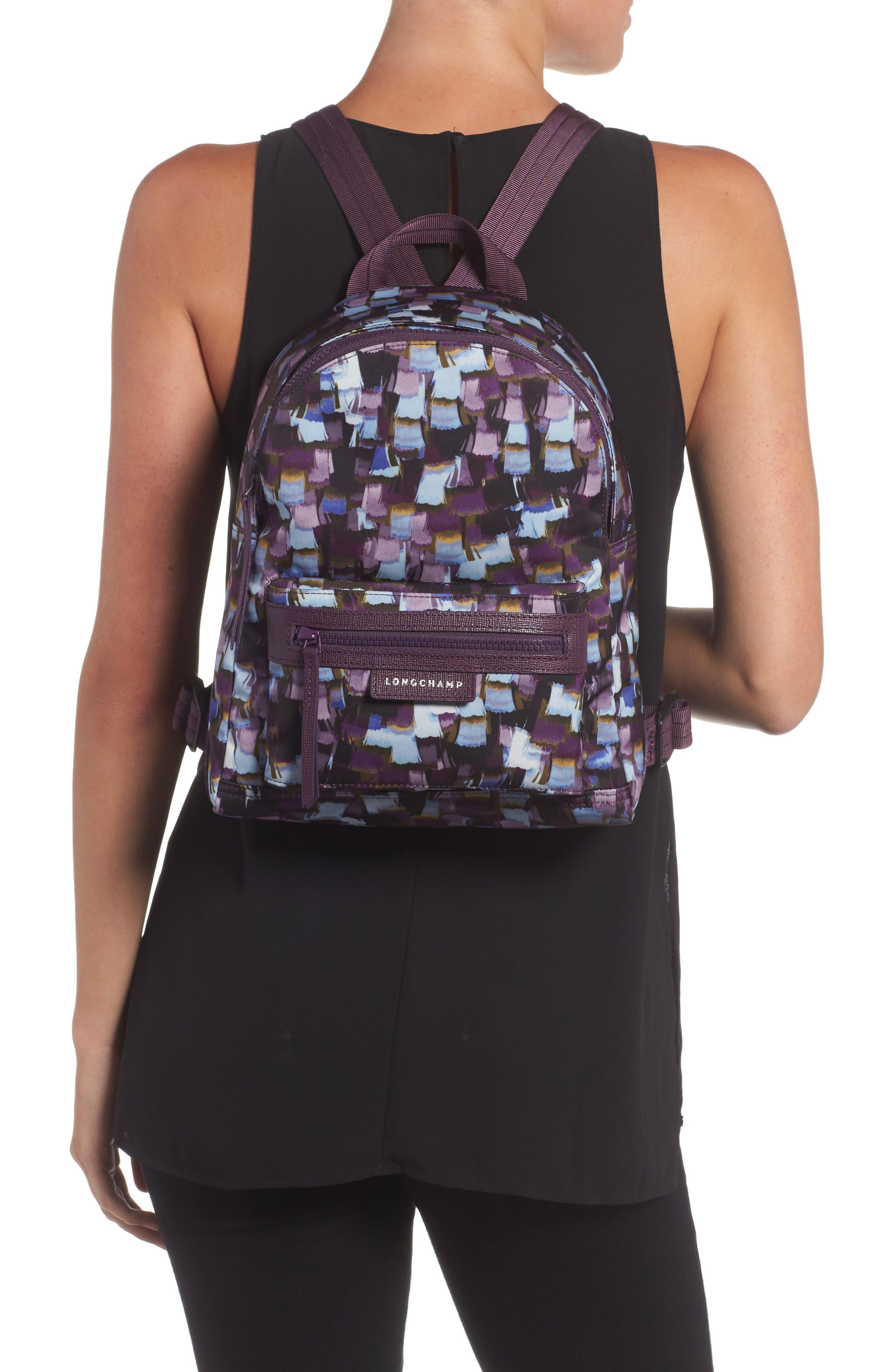 Le Pliage Neo - Vibrations Nylon Backpack,                             Alternate thumbnail 2, color,                             500