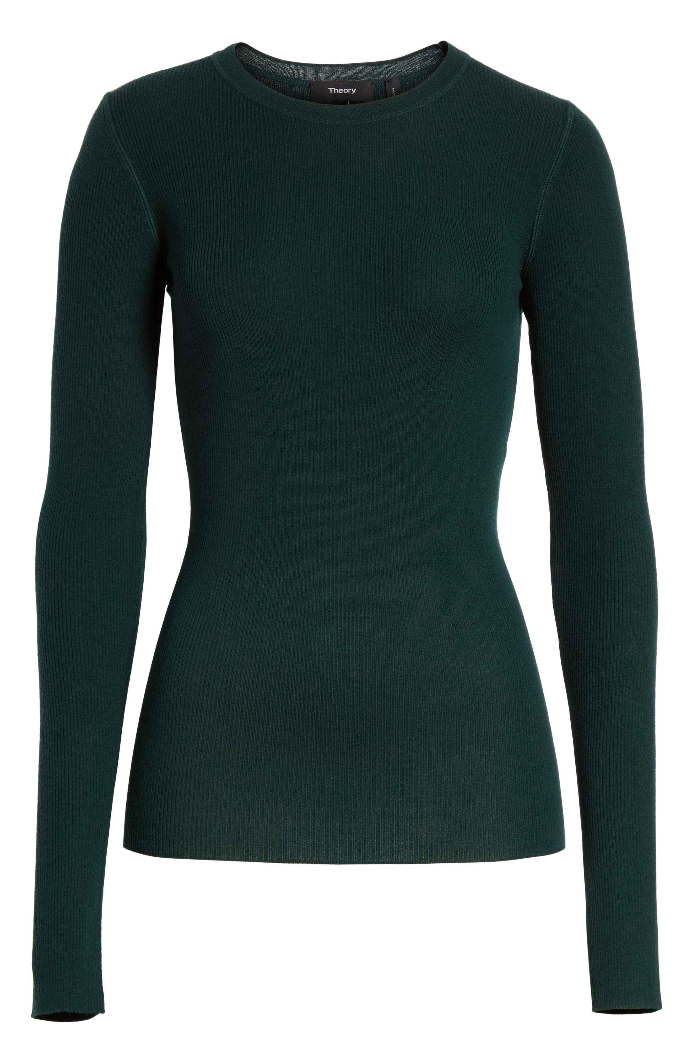 Mirzi Ribbed Sweater,                             Alternate thumbnail 6, color,                             308