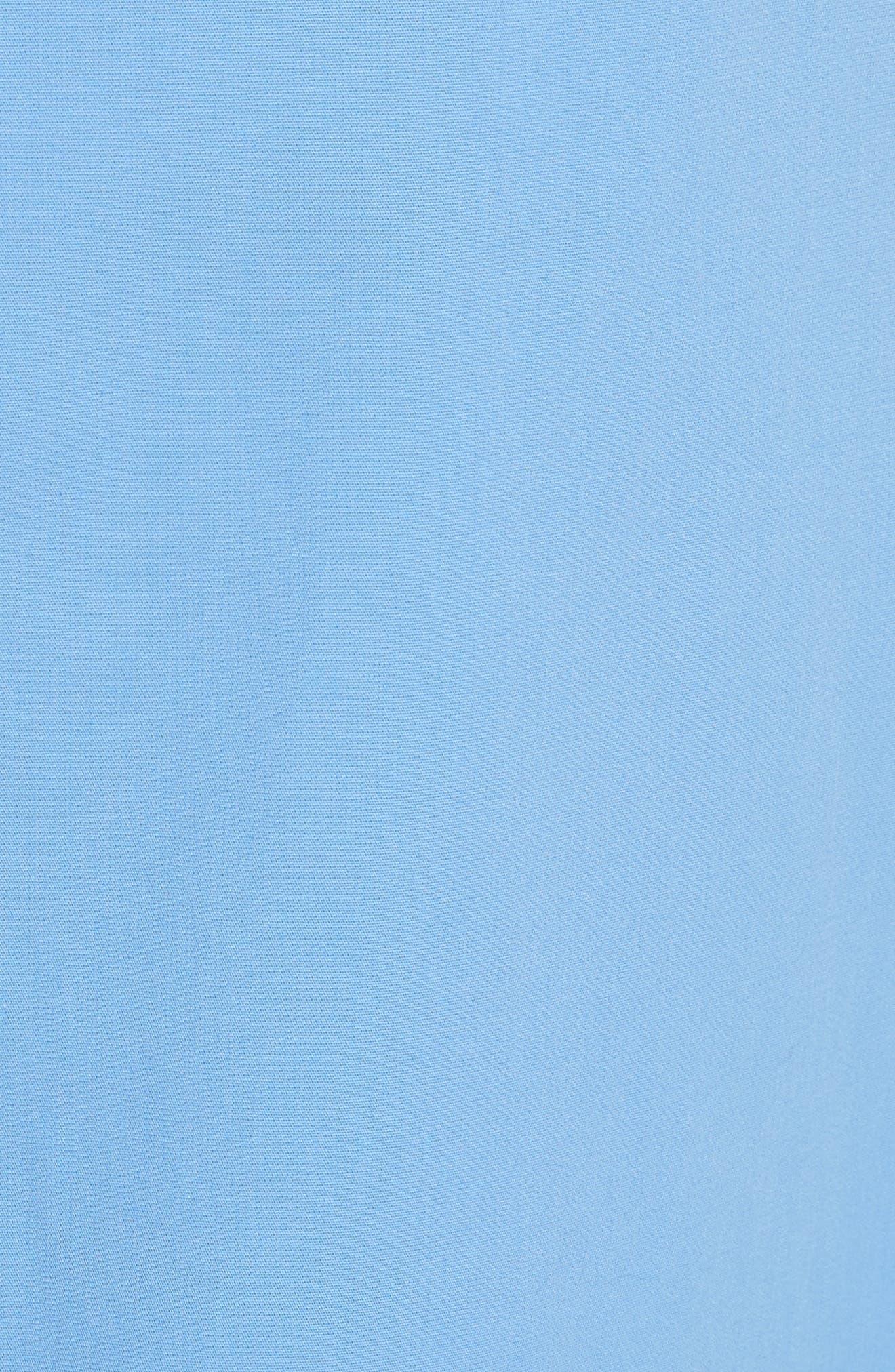 Asymmetrical Stretch Cotton Skirt,                             Alternate thumbnail 5, color,                             450